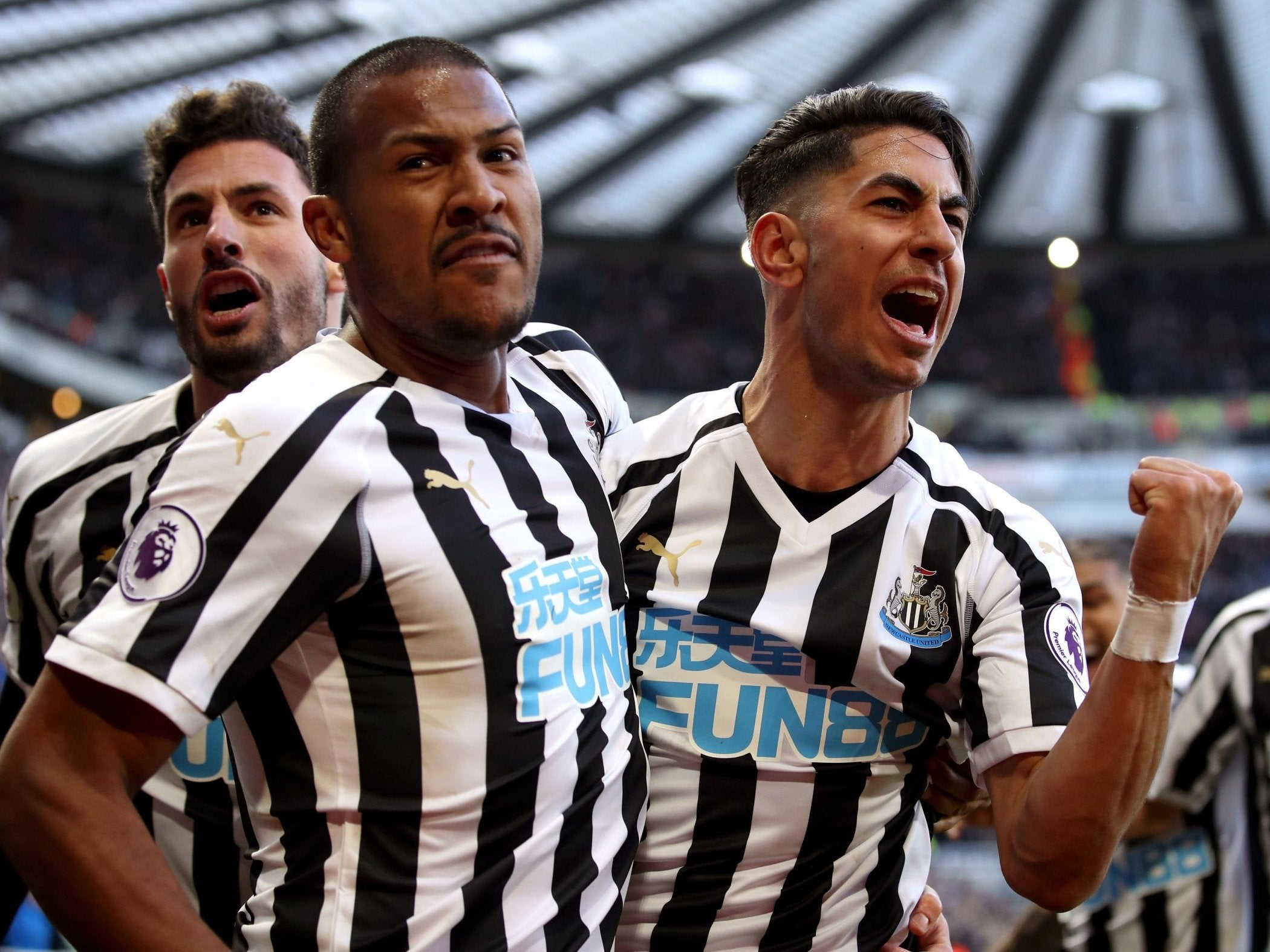 Newcastle vs Everton result: Ayoze Perez double seals ...