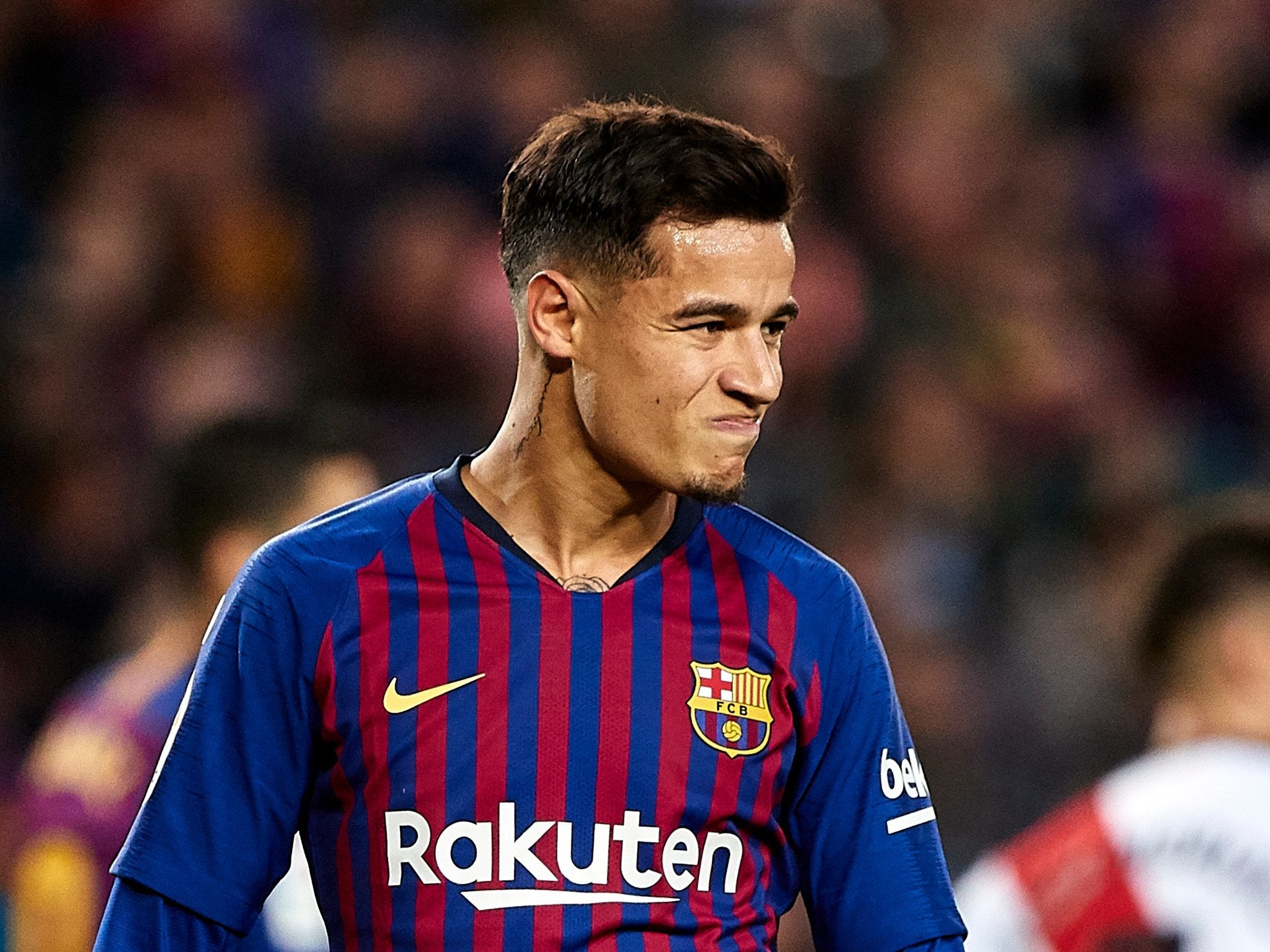 Philippe Coutinho backed by teammates after fans boo
