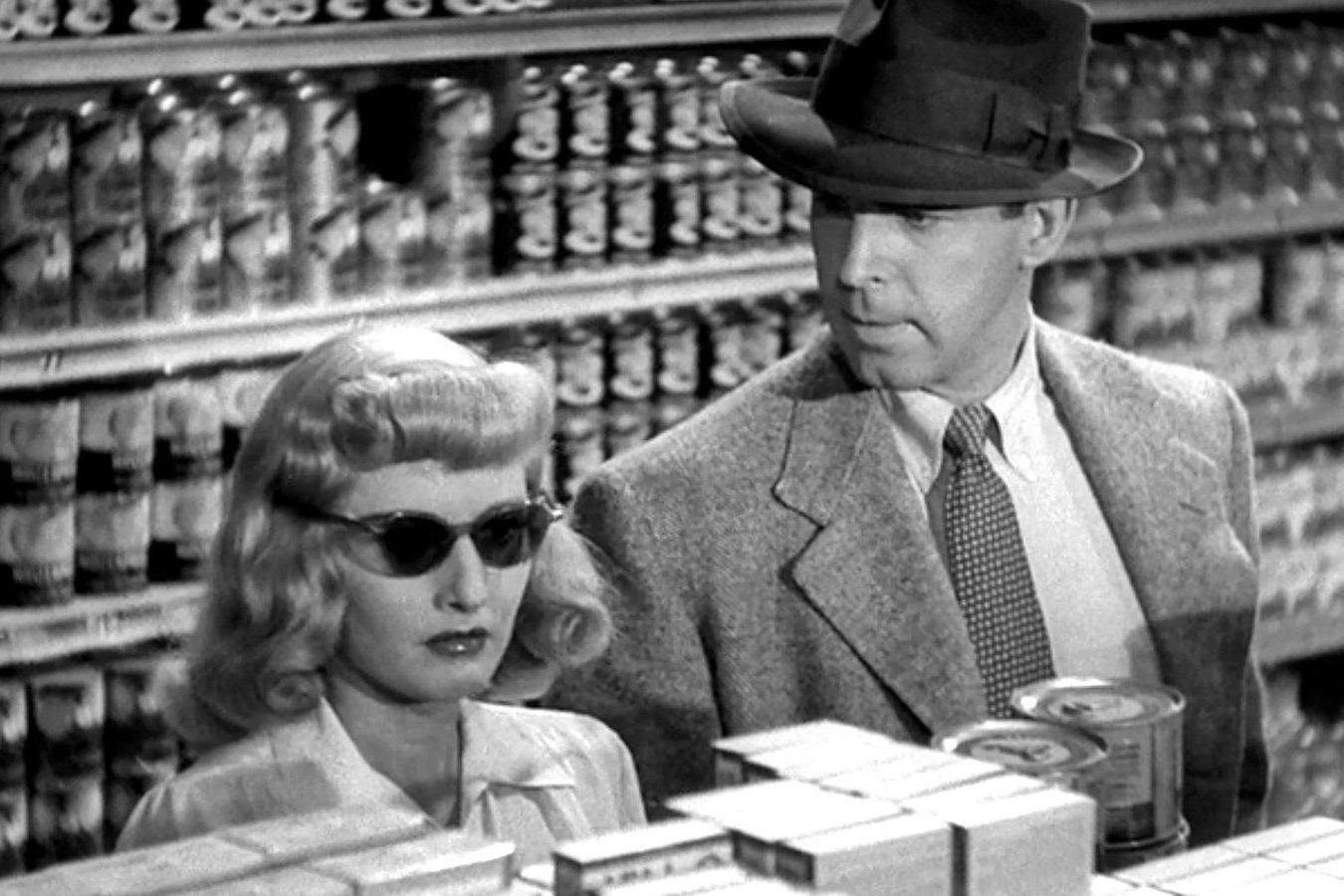 Double Indemnity (1944) Crime, Drama, Film-Noir