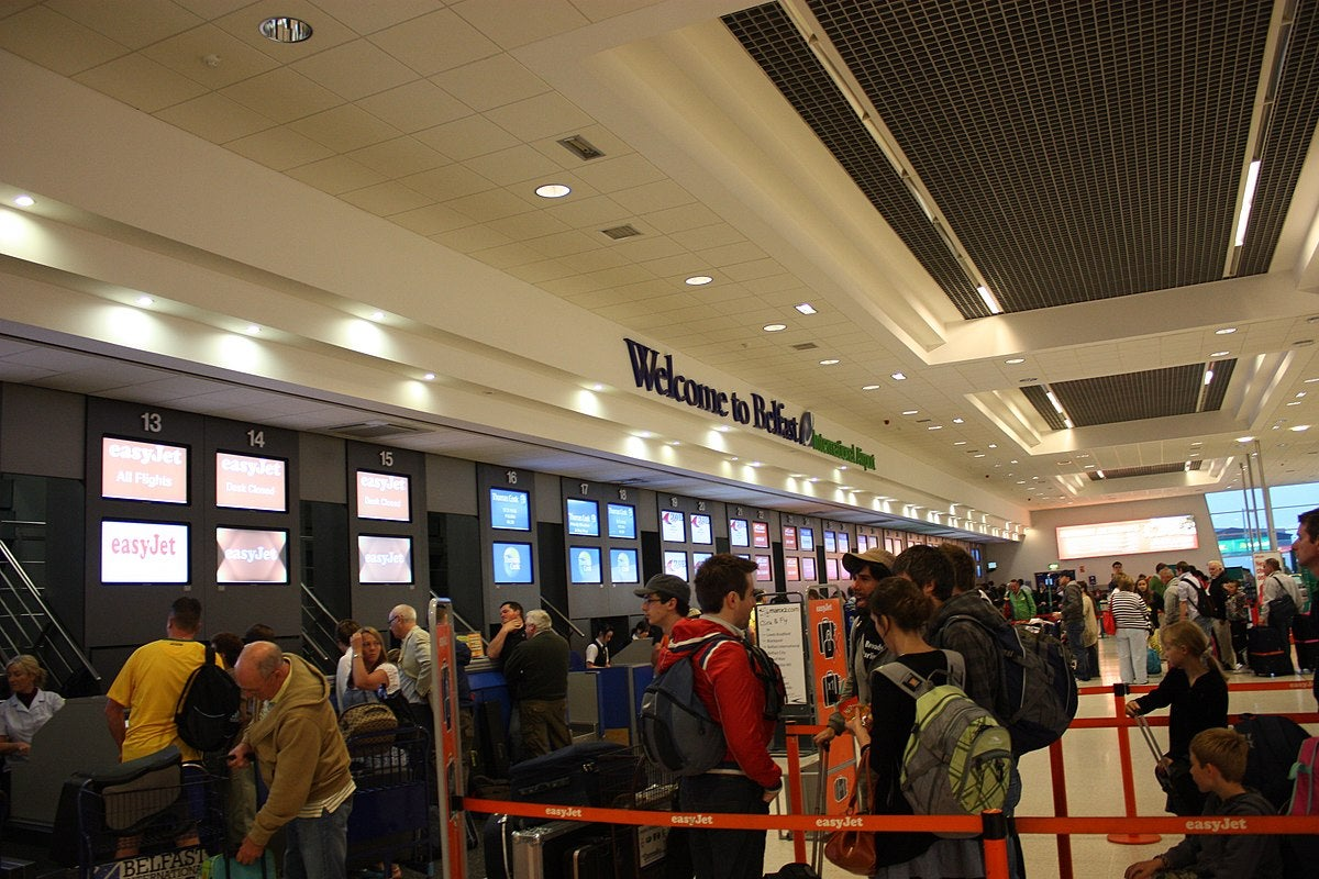 Belfast airport security dubbed an 'absolute joke' by passengers stranded in huge queues