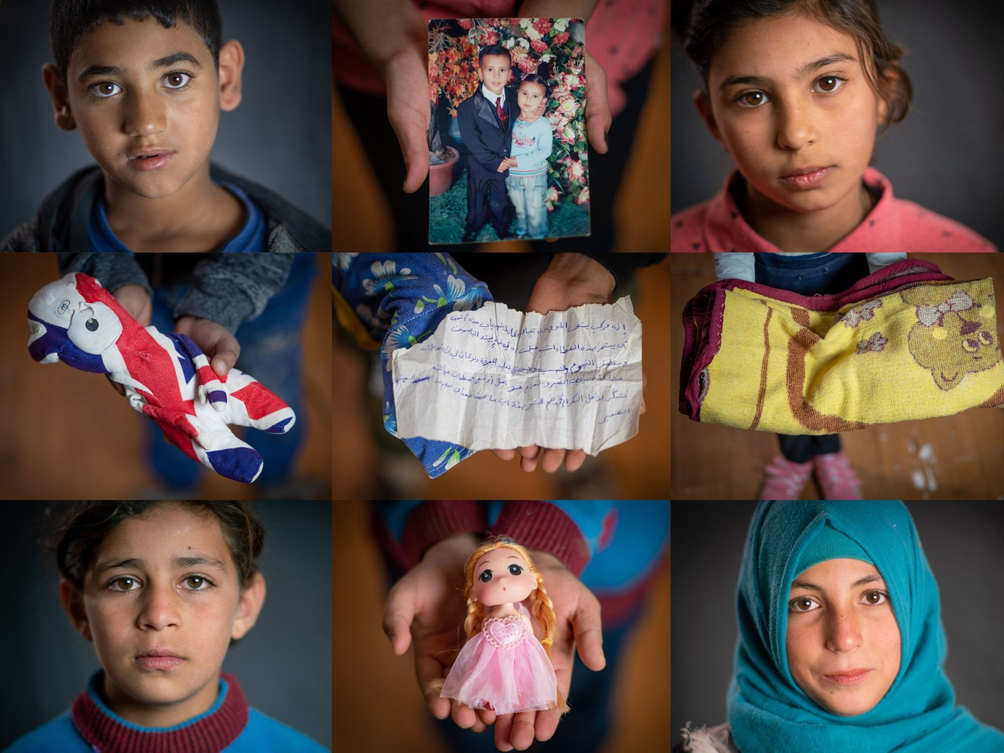 The precious objects bringing comfort to Syrian refugees