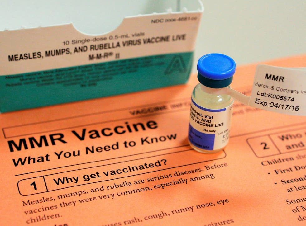 Claims about the MMR vaccine and autism have long been debunked