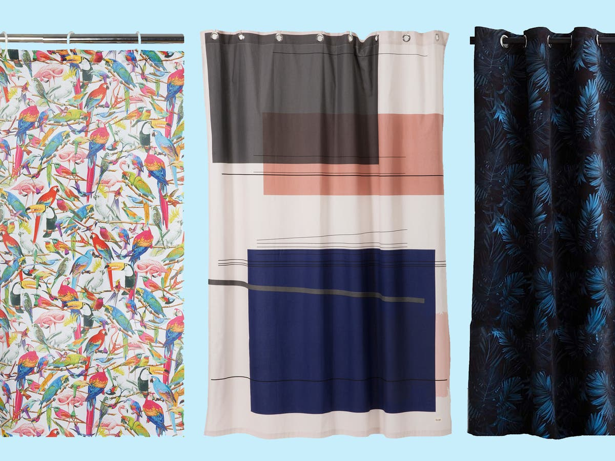 9 Best Shower Curtains The Independent The Independent