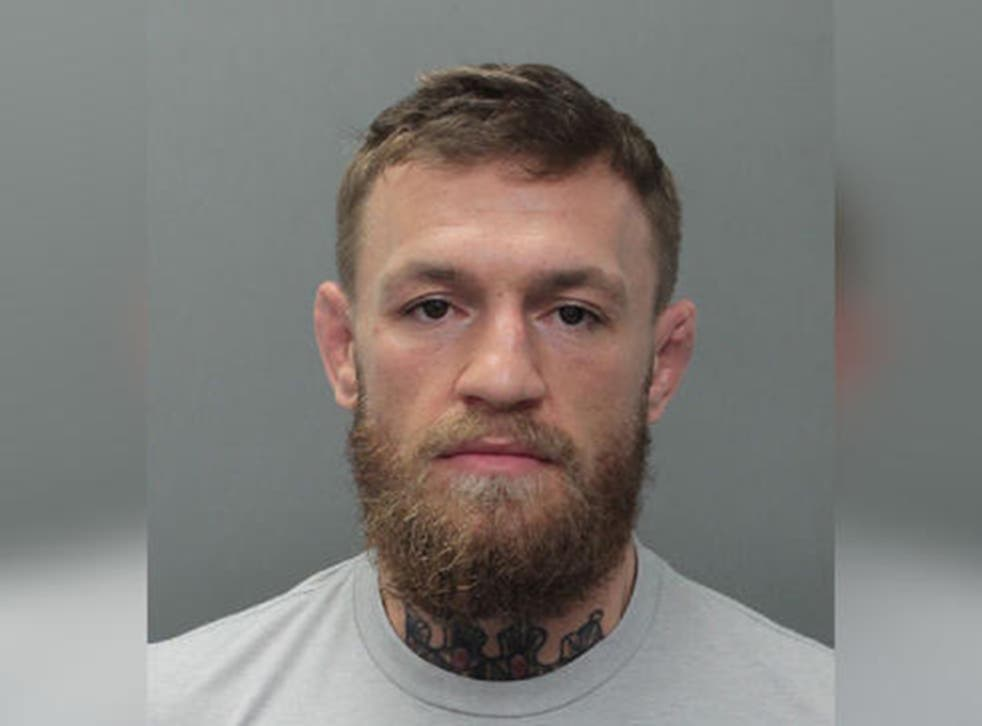Conor McGregor arrest: UFC star arrested in Miami for strong-armed robbery  and criminal mischief   The Independent   The Independent