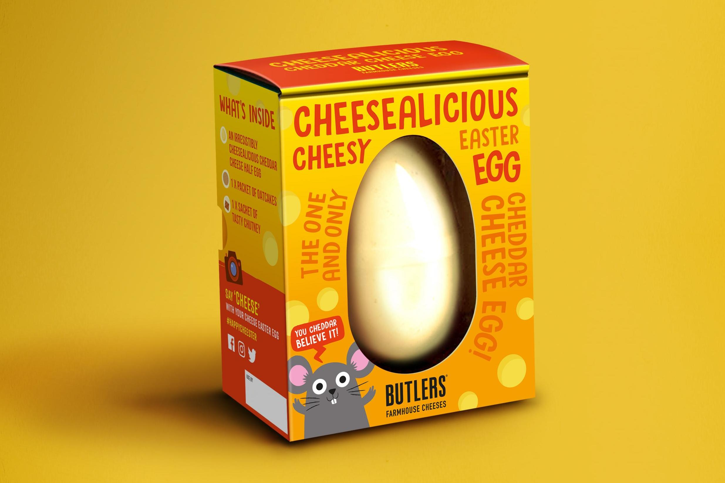Sainsbury's unveils Easter egg made entirely from cheese 1