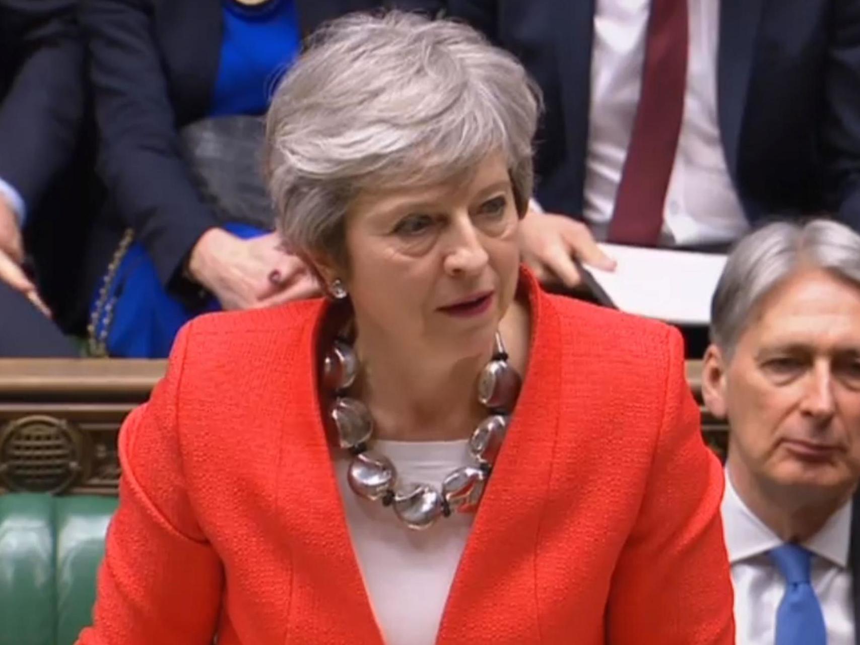 Resultado de imagen para theresa may brexit