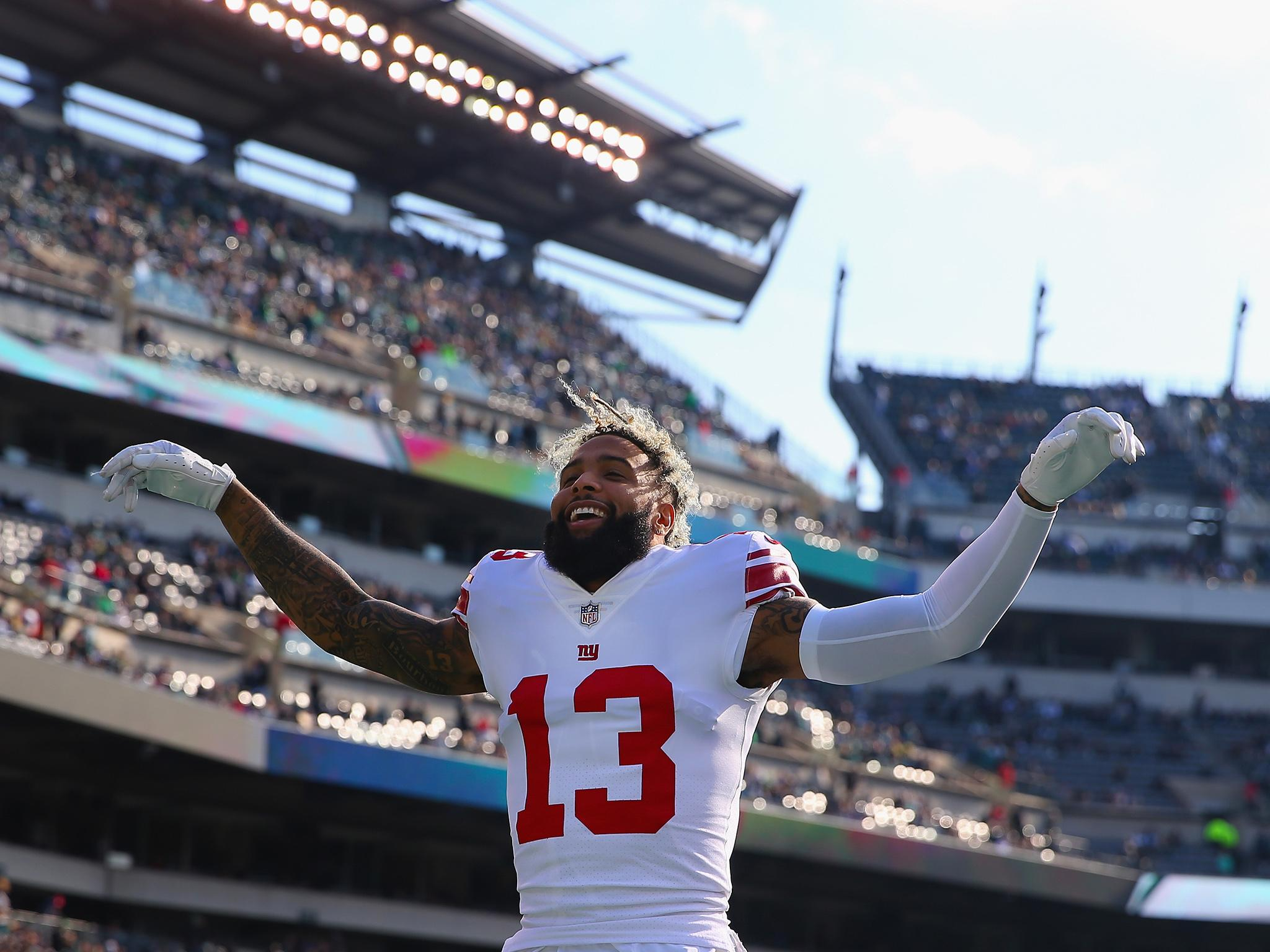 buy online 643a1 c2ea0 Odell Beckham - latest news, breaking stories and comment ...