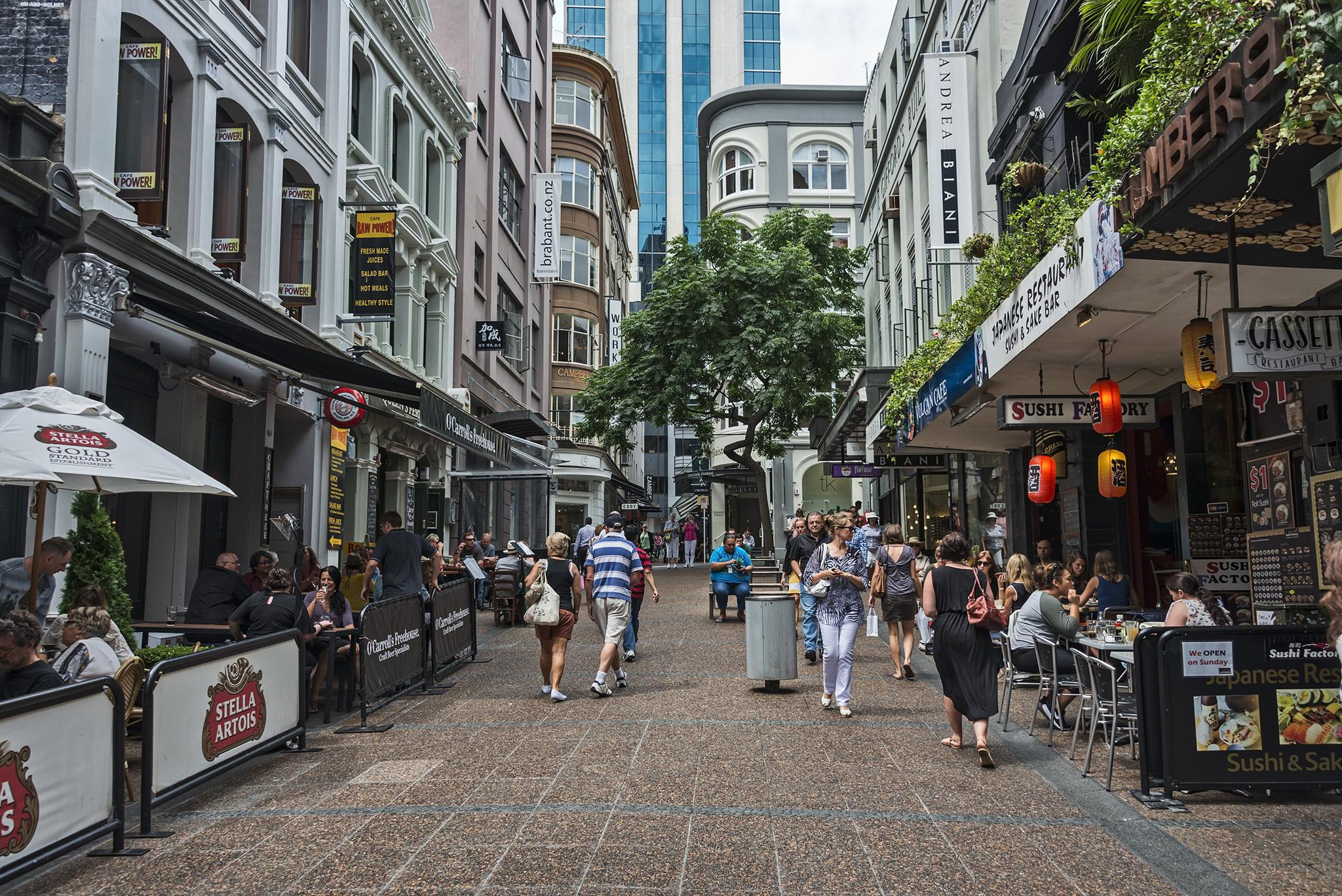 3. Auckland, New Zealand