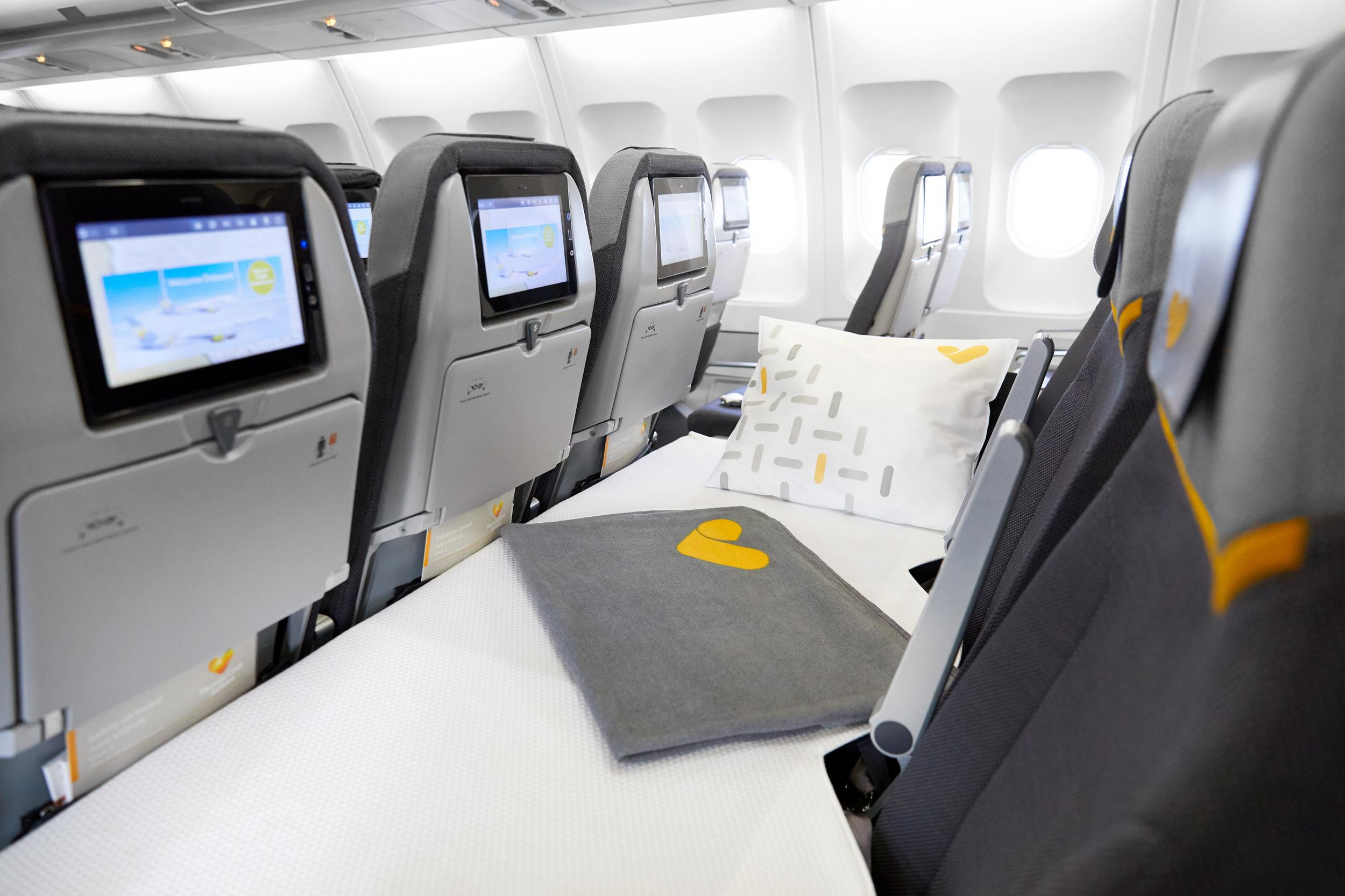 Thomas Cook introduces lie-flat beds in economy class