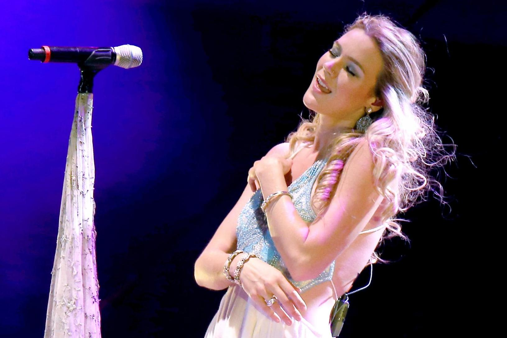 Joss Stone performs in North Korea