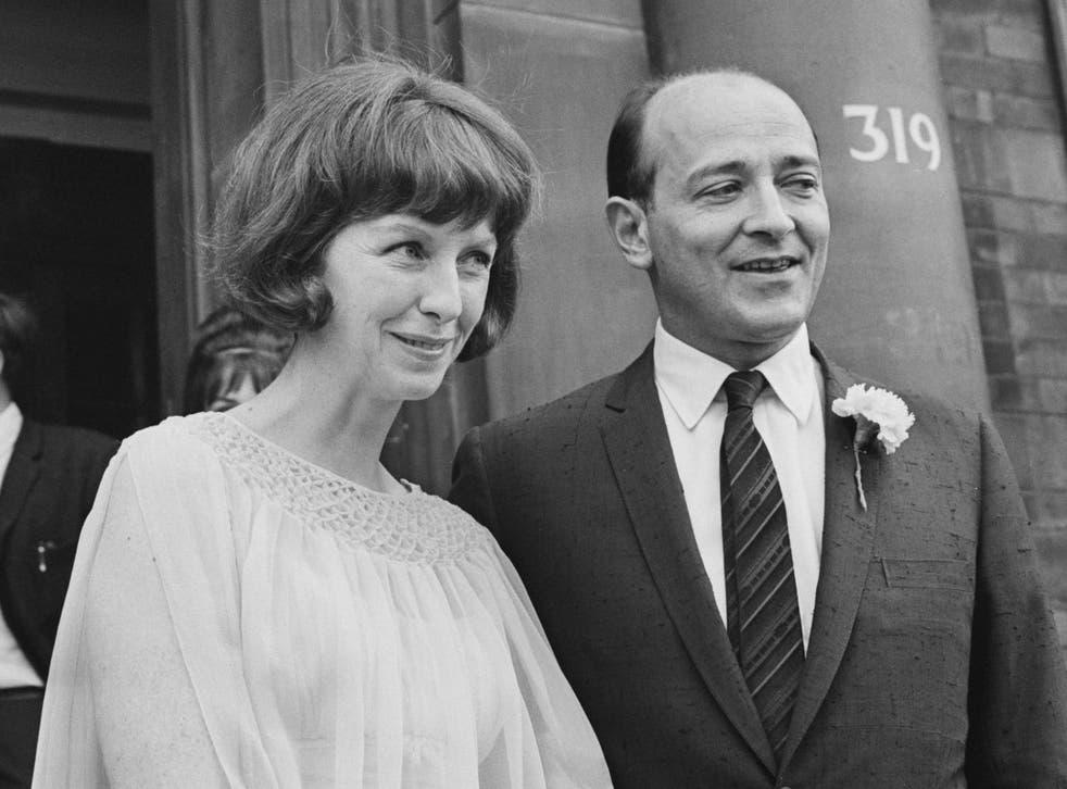 The American actress married British filmmaker Karel Reisz in London in 1963