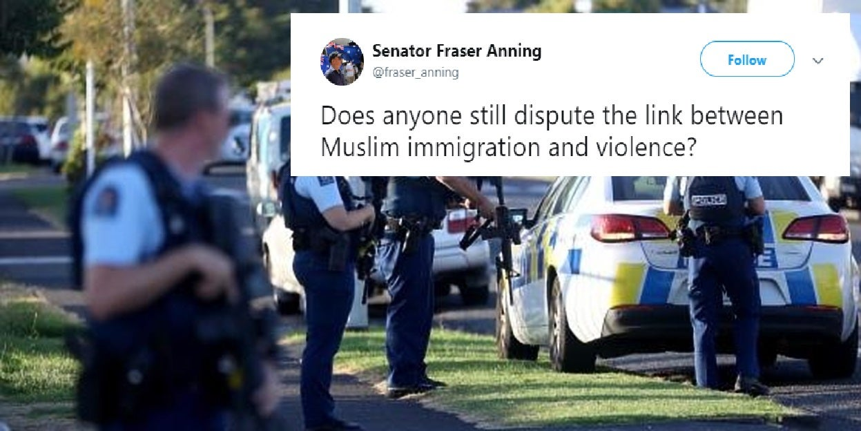 Australian politician blames Muslim immigration and 'left-wing politicians' for Christchurch terror attack