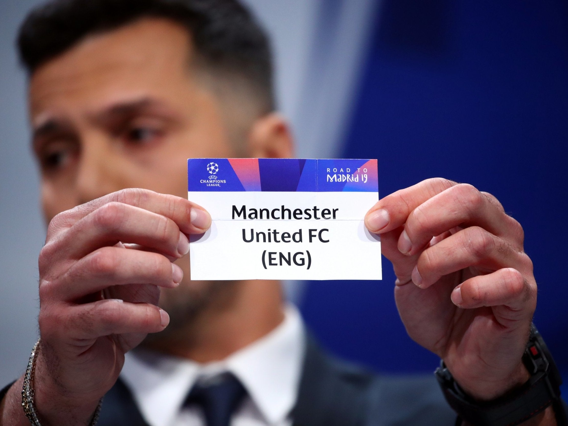 Champions League Draw Live Online Liverpool Manchester United Man