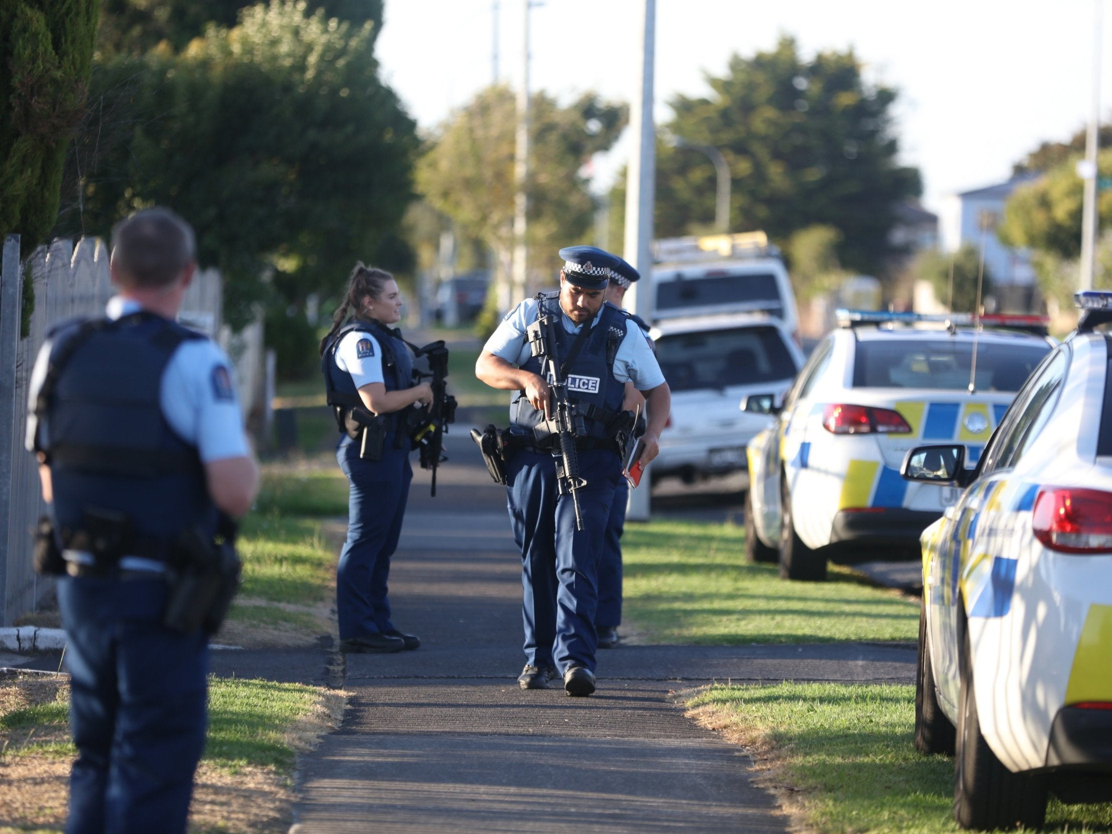 Shooting In Christchurch Picture: New Zealand Shooting: Video Shows Police Arresting
