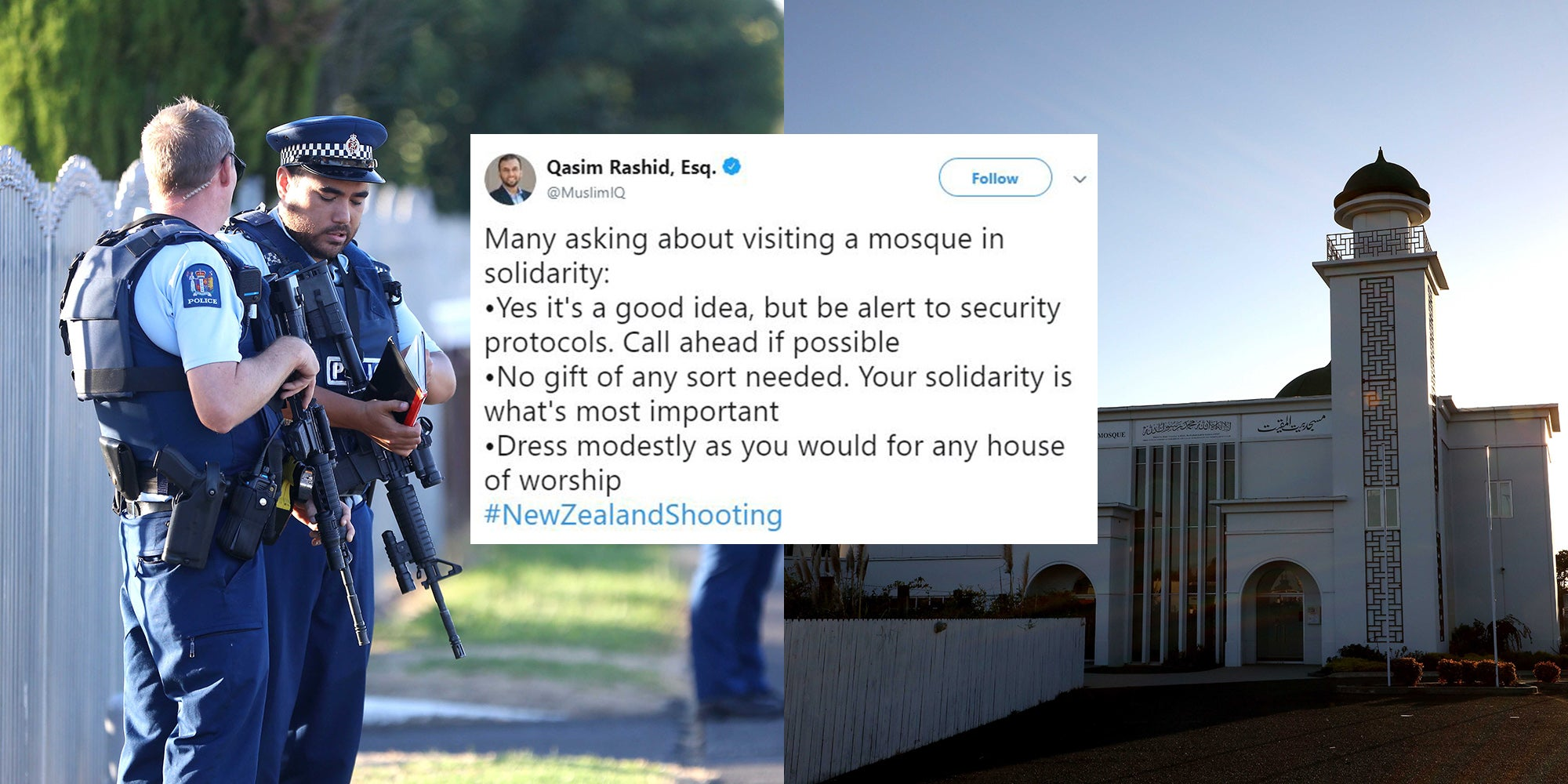 New Zealand Shooting Mosque Detail: New Zealand Shootings: How To Show Solidarity With Muslim