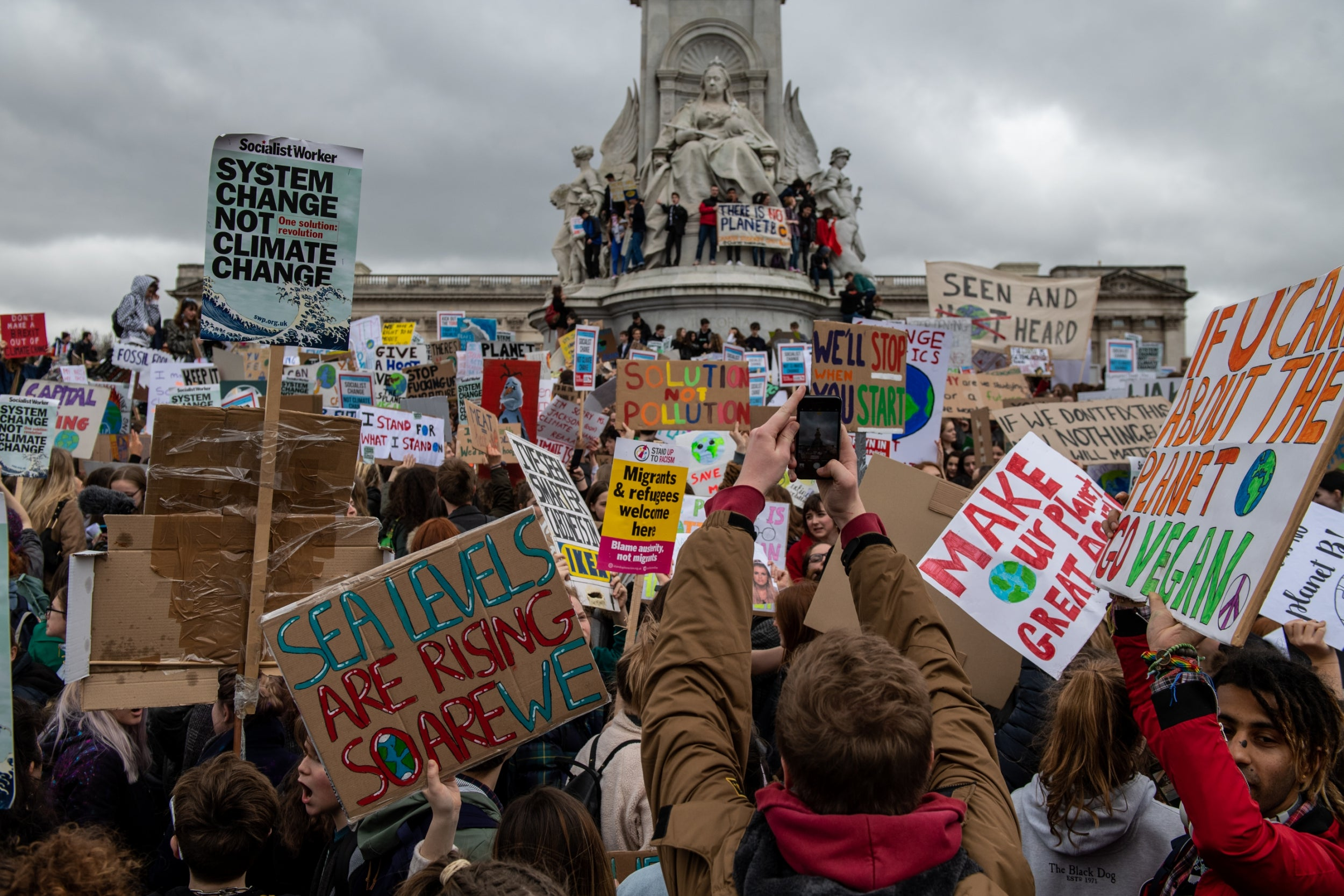 If you're striking for the climate this Friday, why not go vegan as well?