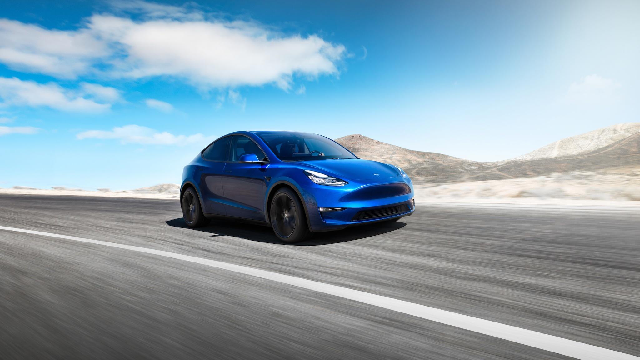 New Tesla Model Y completes joke that Elon Musk has been working on for 10 years