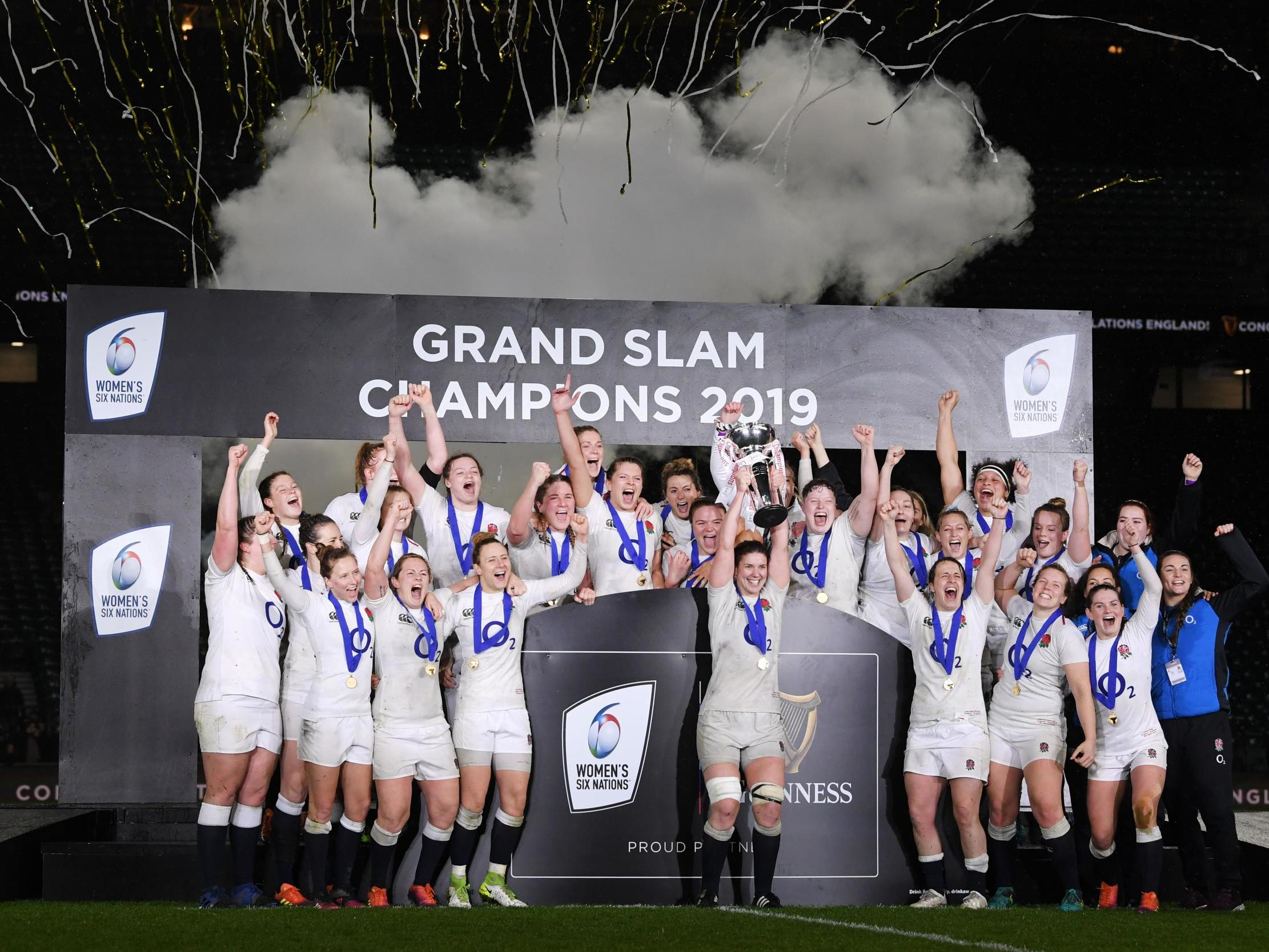 Jess Breach stars as England Women crush Scotland to win Grand Slam