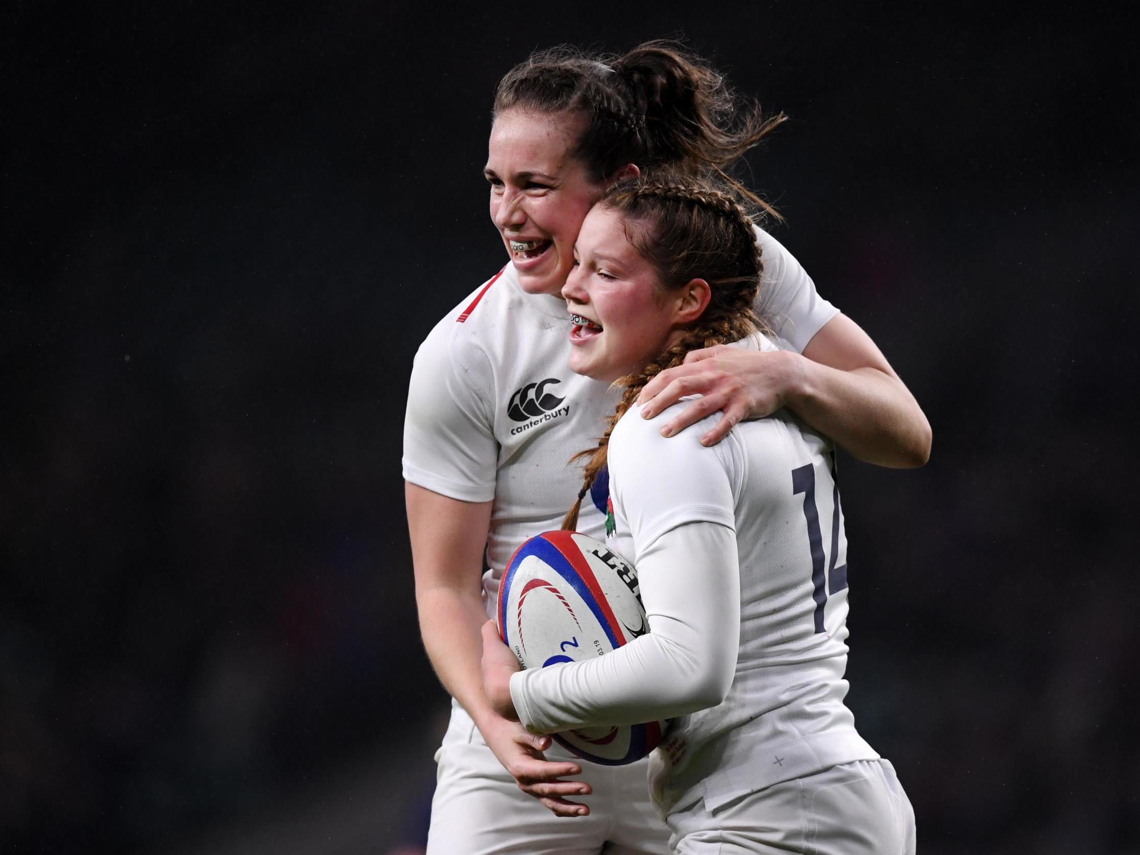 JESS BREACH (11) & EMILY SCARRATT (13)