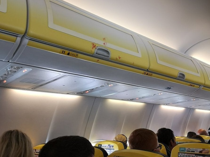 Ryanair fight: Row over 'woman not wearing shoes' leads to bloody brawl on flight to Tenerife