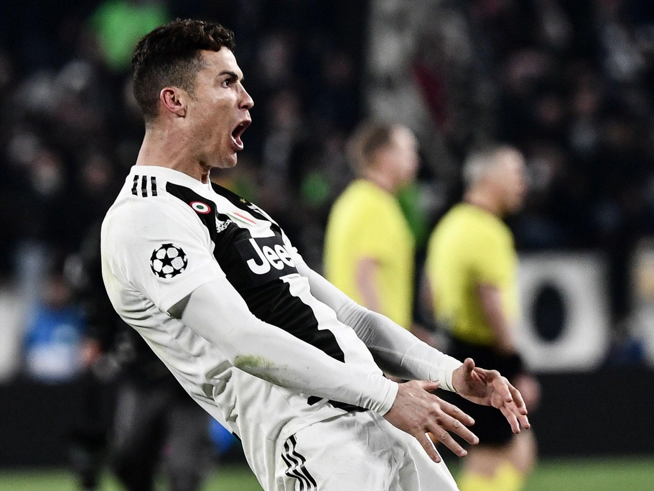 რონალდო UEFA-ს ჯარიმას ვერ გადაურჩა, ლიგის გოლის აღიშვნა რონალდოს ძვირი დაუჯდა