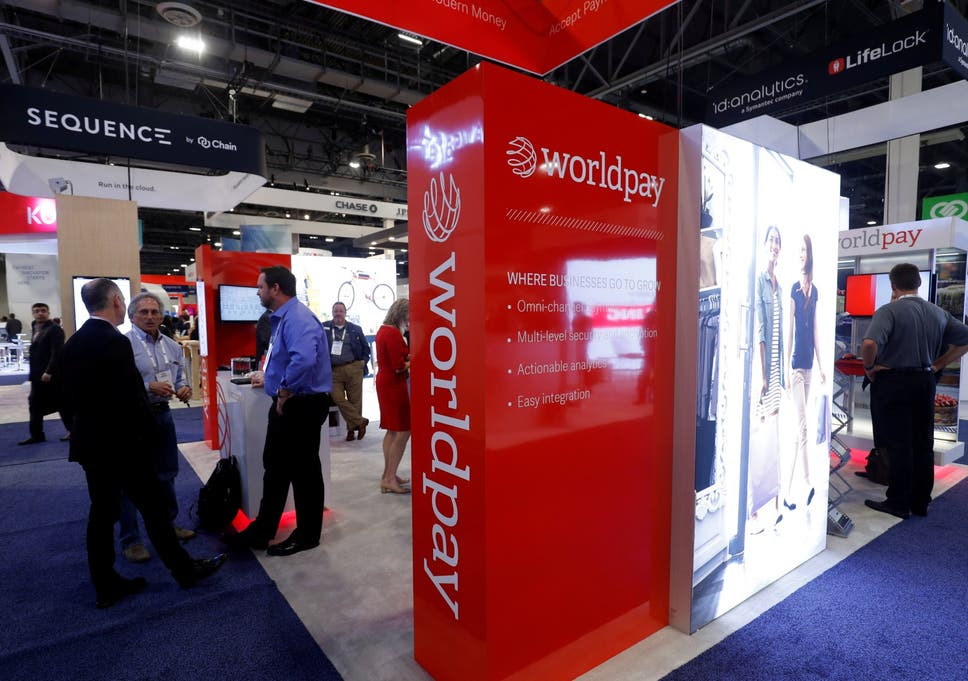 Worldpay in $43bn takeover by US fintech giant FIS as