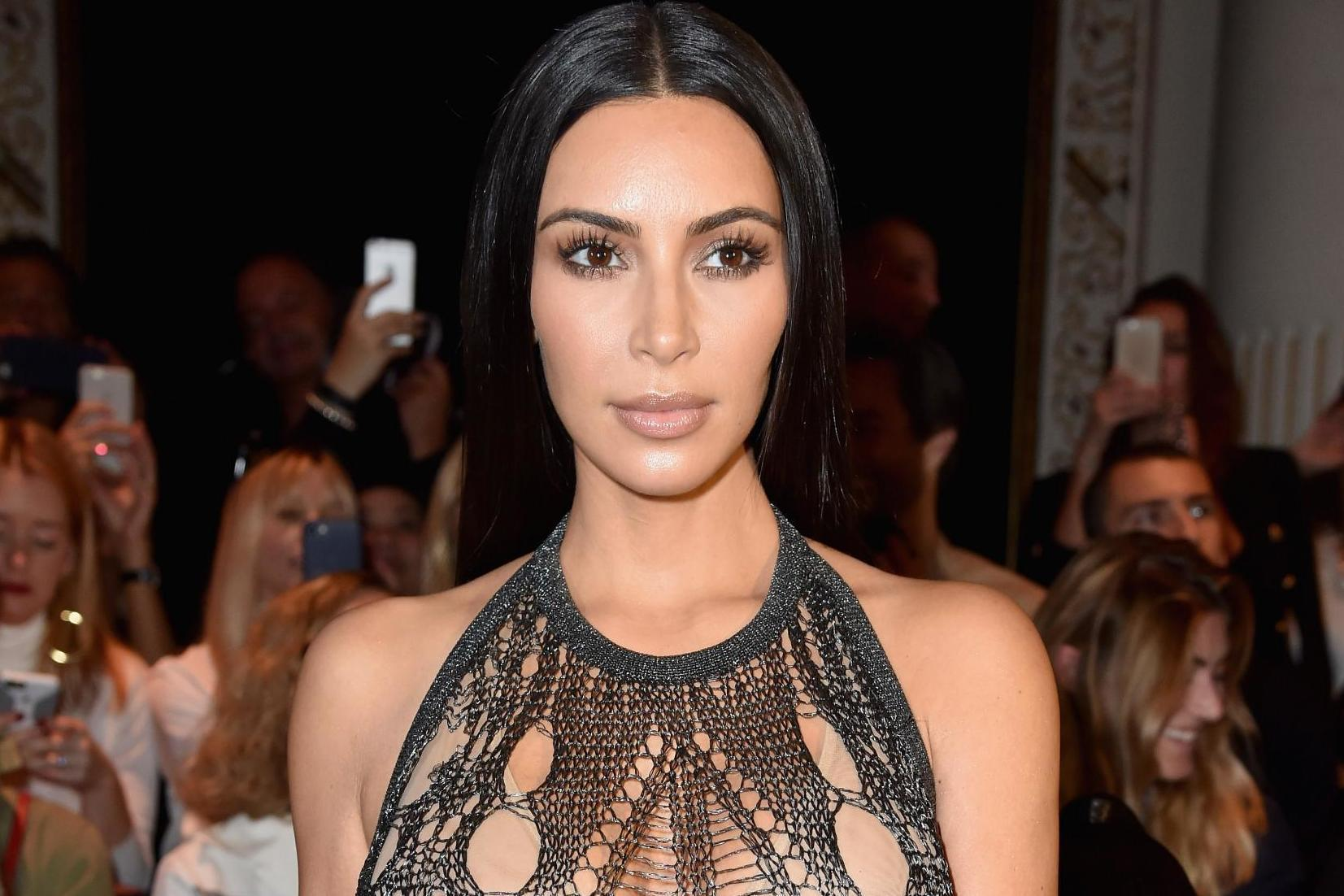Kim Kardashian is being mum-shamed for letting five-year-old North West wear lipstick to church