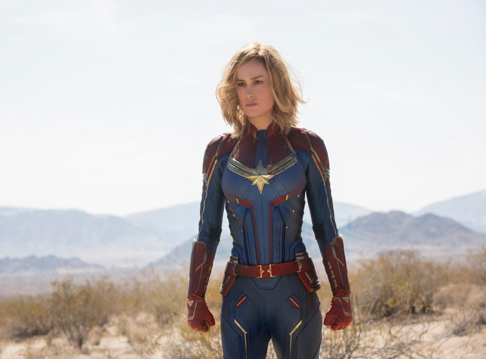 Larson as Captain Marvel