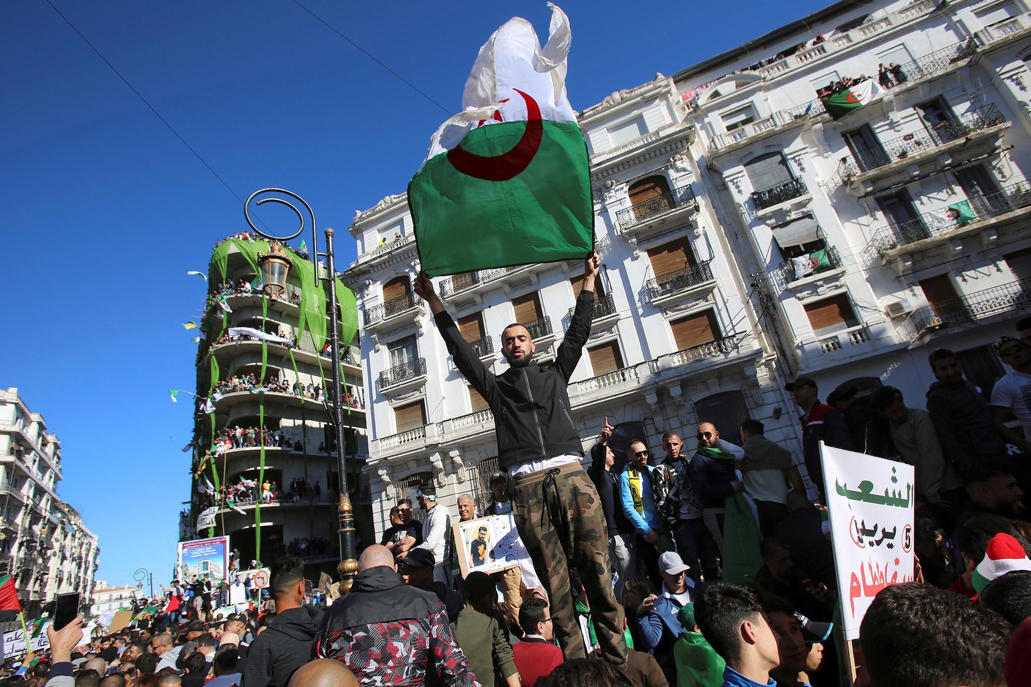 People Vs  Pouvoir: Demonstrators take on Algeria's shadowy forces