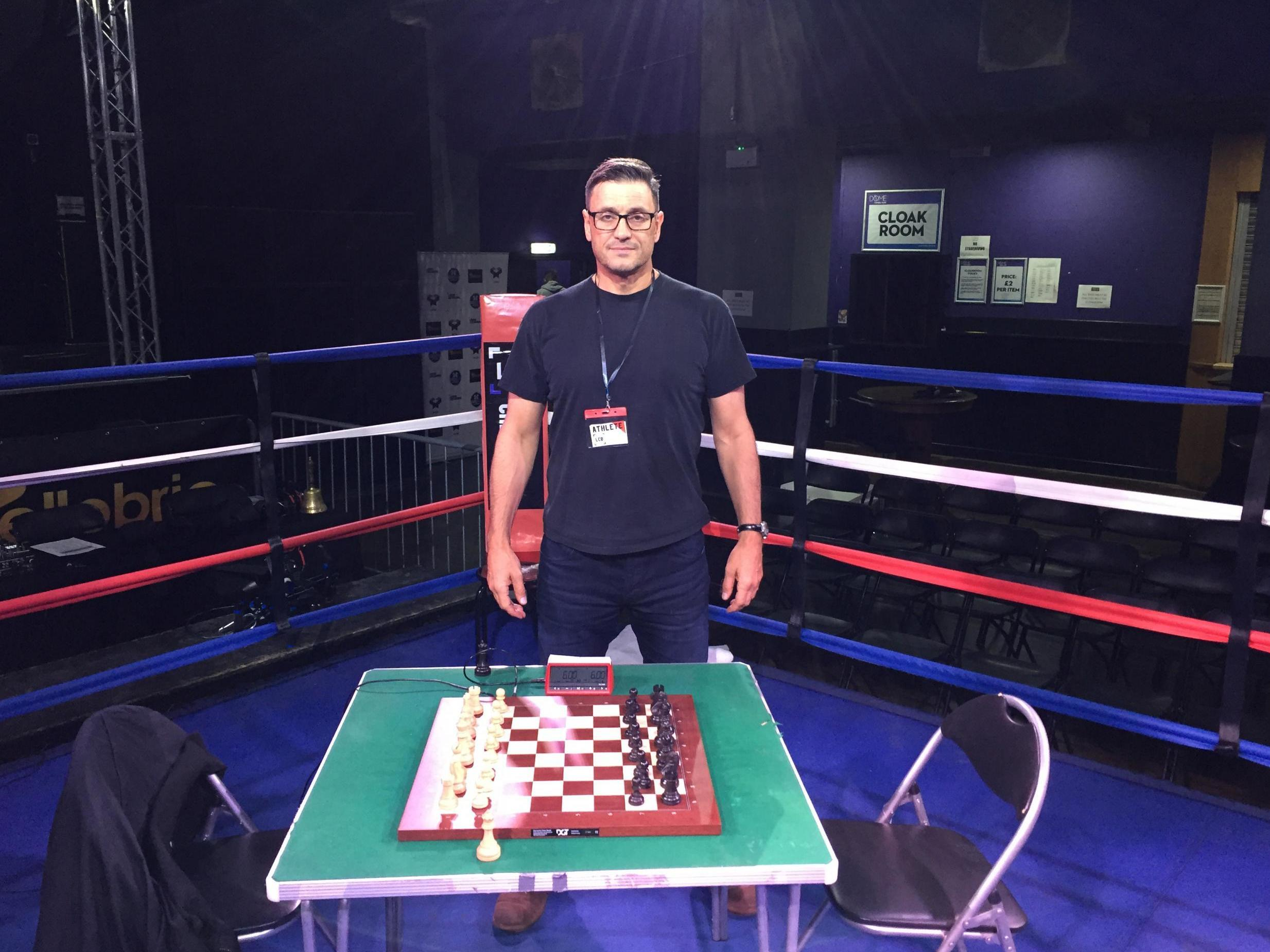 Welcome to chessboxing, the ultimate battle of physical and mental prowess