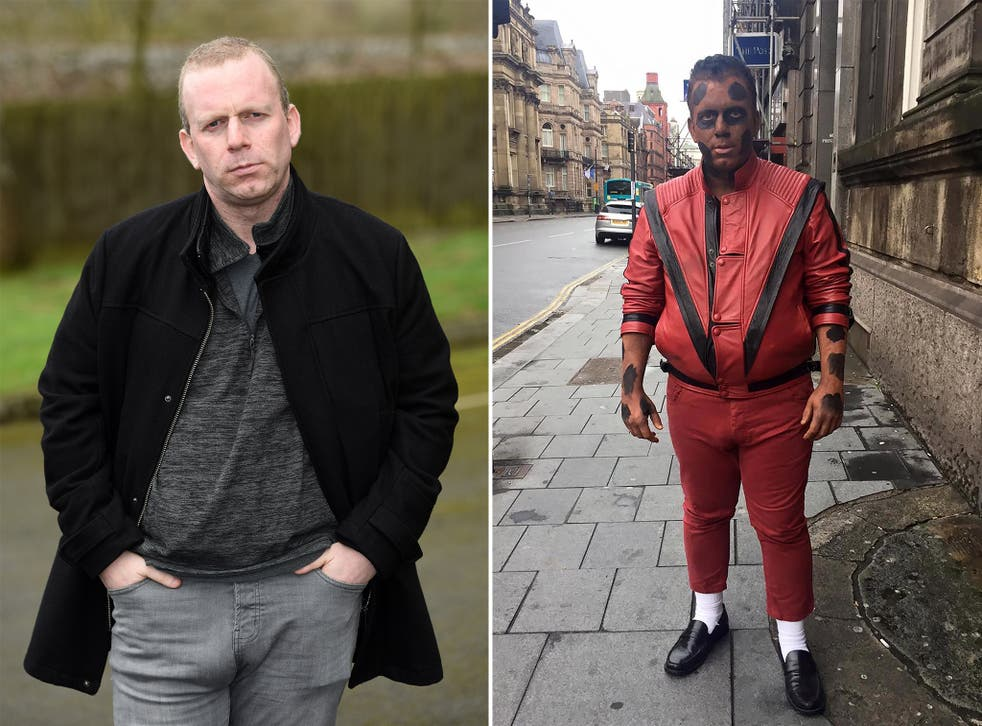 "John Lomas, 38, changed his name to ""John Michael Jackson"" by deed poll as a tribute to his favourite popstar"