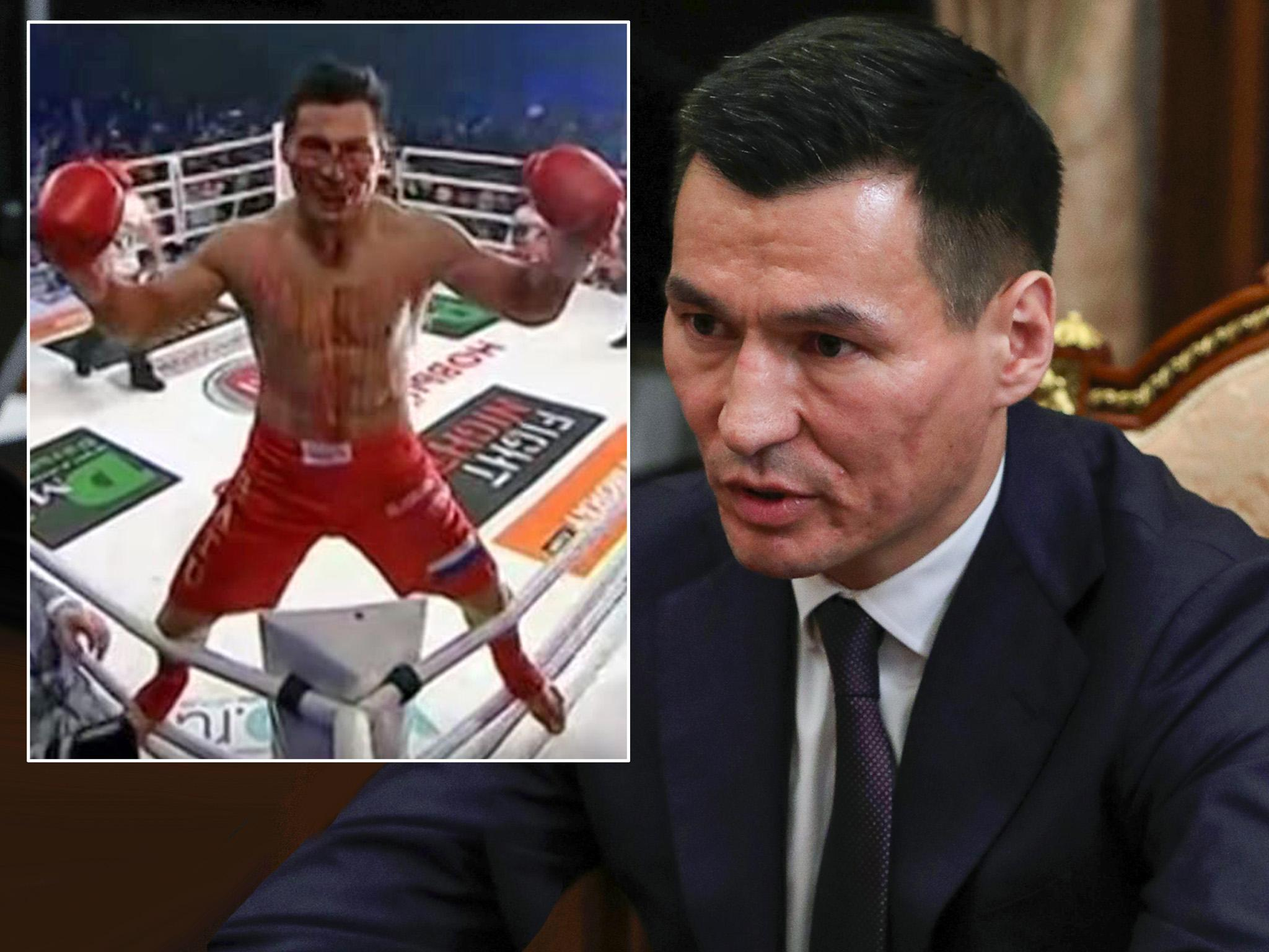 Vladimir Putin Appoints Kickboxer To Head Russian Region The Independent The Independent