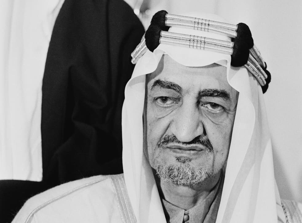 King Faisal of Saudi Arabia, who was assassinated on 25 March 1975 by his nephew
