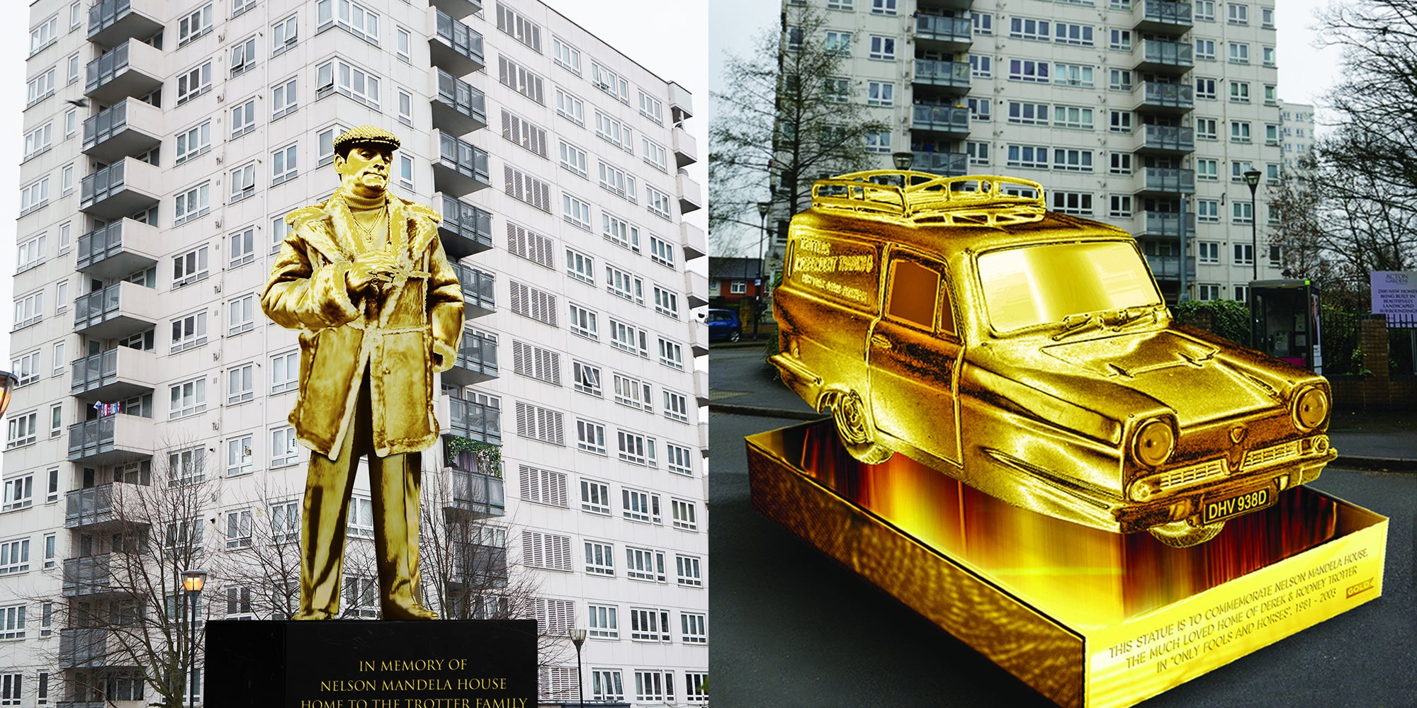 Only Fools and Horses actor backs campaign to build golden Del Boy statue