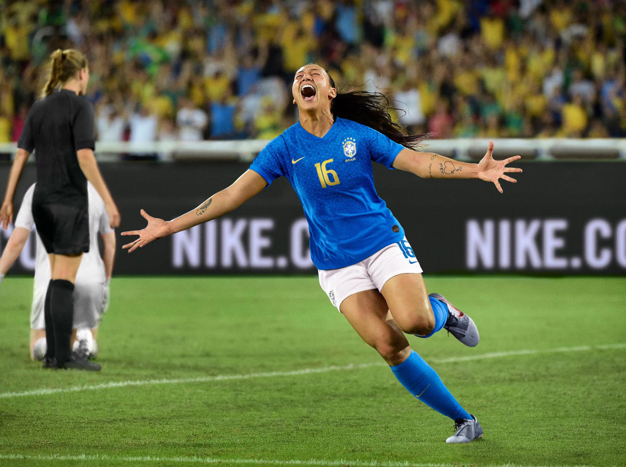Nike releases empowering football advert ahead of Fifa Women's World Cup