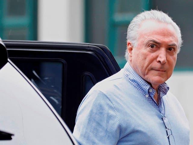 Michel Temer has been arrested in Rio de Janeiro