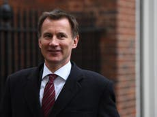 No-deal Brexit better than staying in EU, Jeremy Hunt says