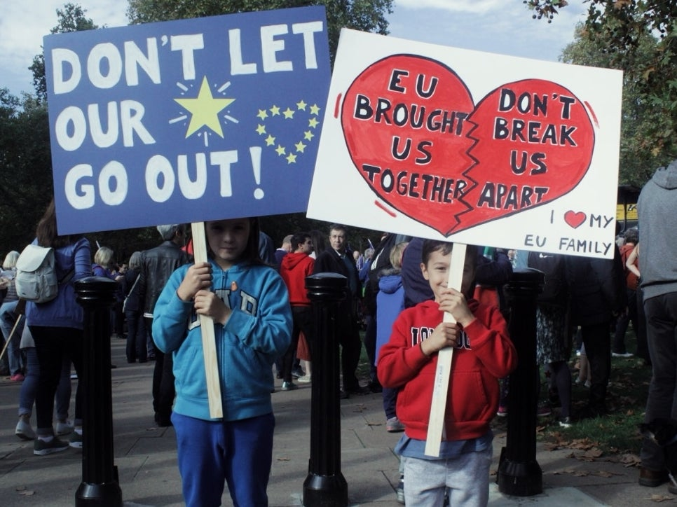 If young people make a stand on Saturday something good can finally come of this Brexit mess