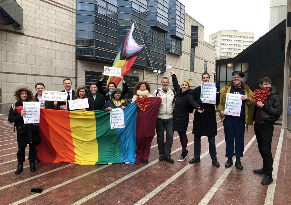 LGBT+ group have tried to build bridges with protesting