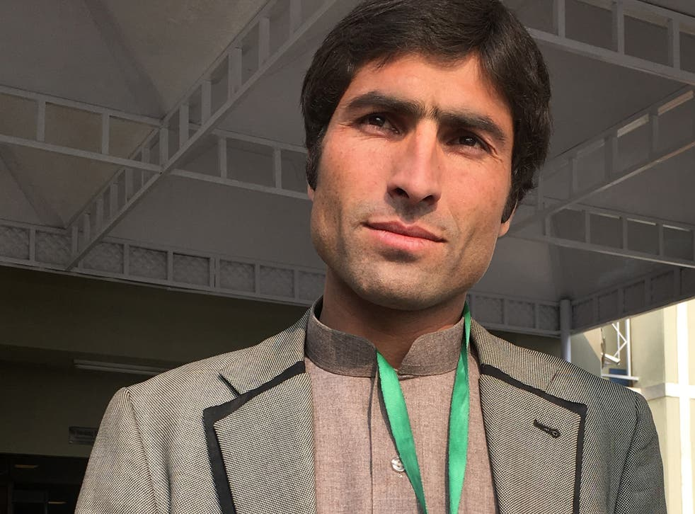 Kohistani, pictured in 2016, spent years fighting a cover-up of the murders in his village