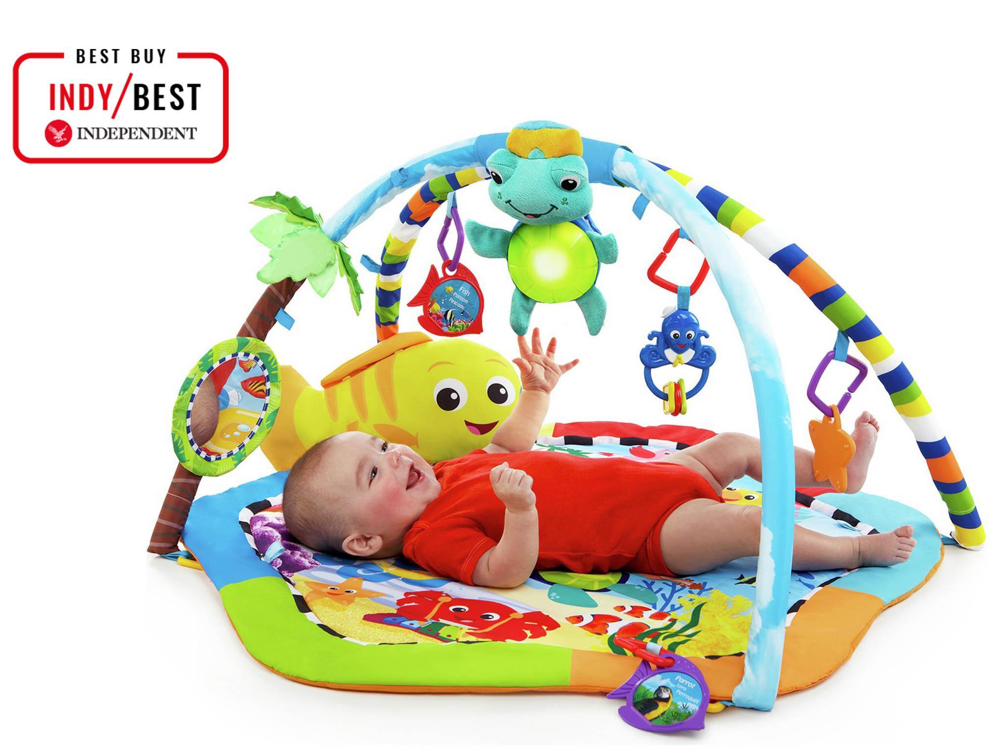 dc3082db5f991b Argos baby Einstein rhythm reef play gym: £31.99, Argos