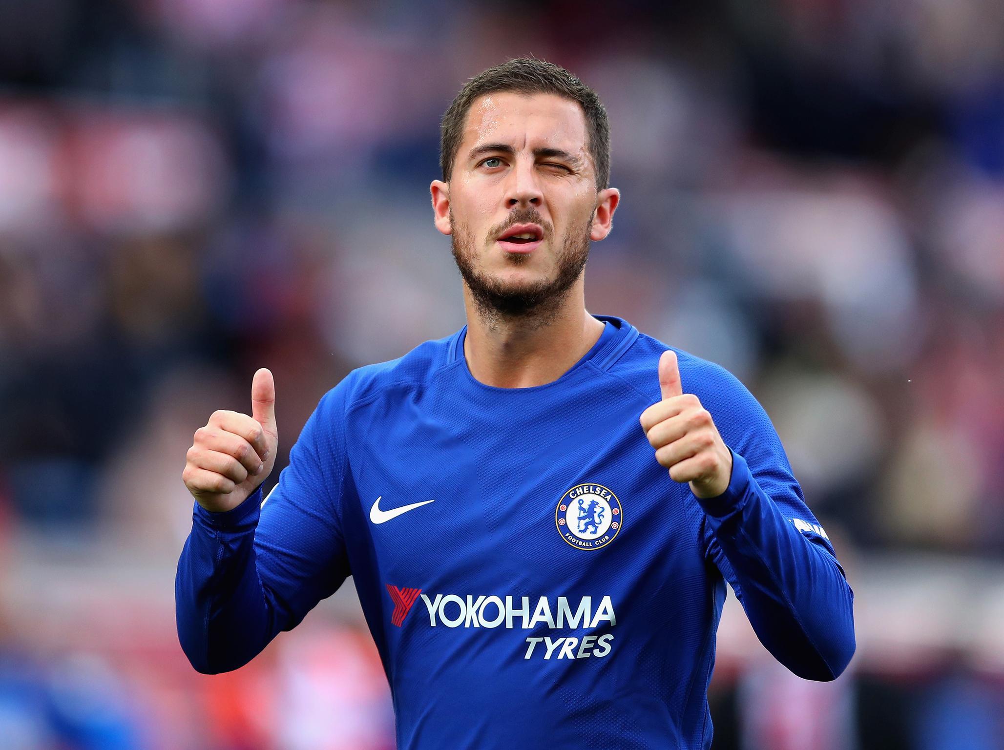 Chelsea transfer news: Eden Hazard responds to speculation ...