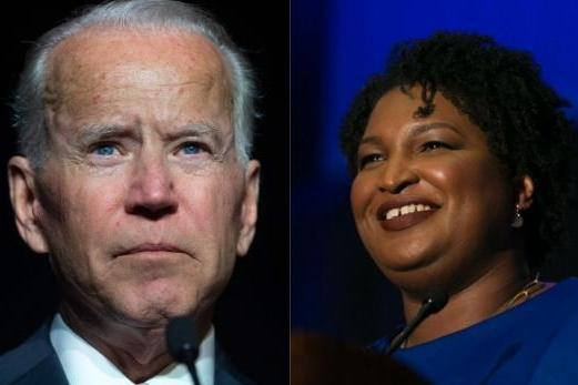 VP candidate Stacey Abrams defends Joe Biden over sexual assault accusation thumbnail