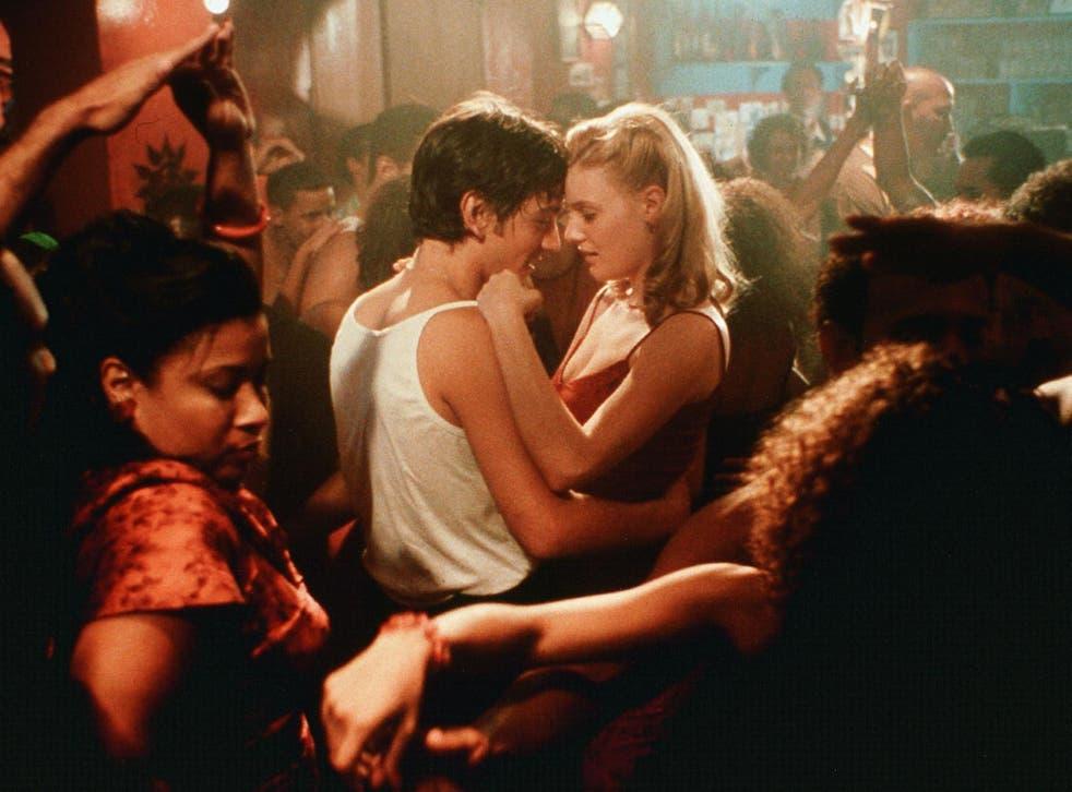 Diego Luna and Romola Garai in Dirty Dancing 2: Havana Nights
