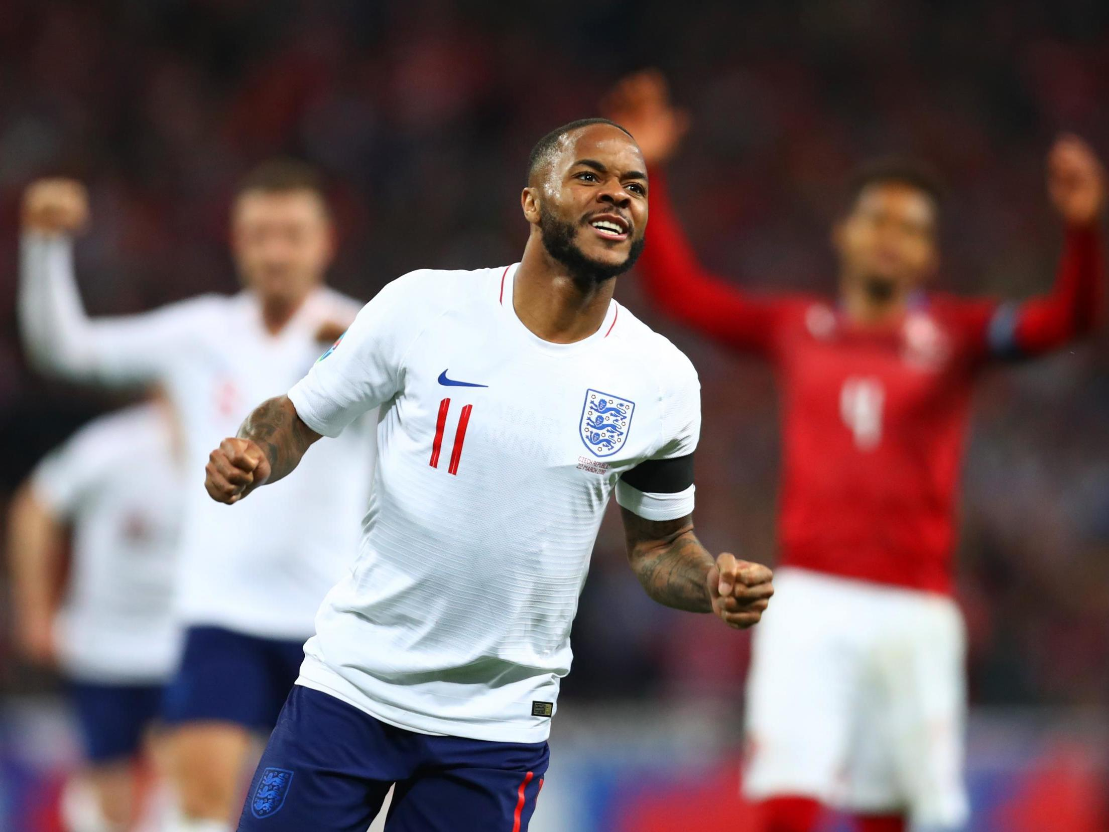 England vs Czech Republic result: Raheem Sterling hat-trick lights up Euro 2020 qualifier victory