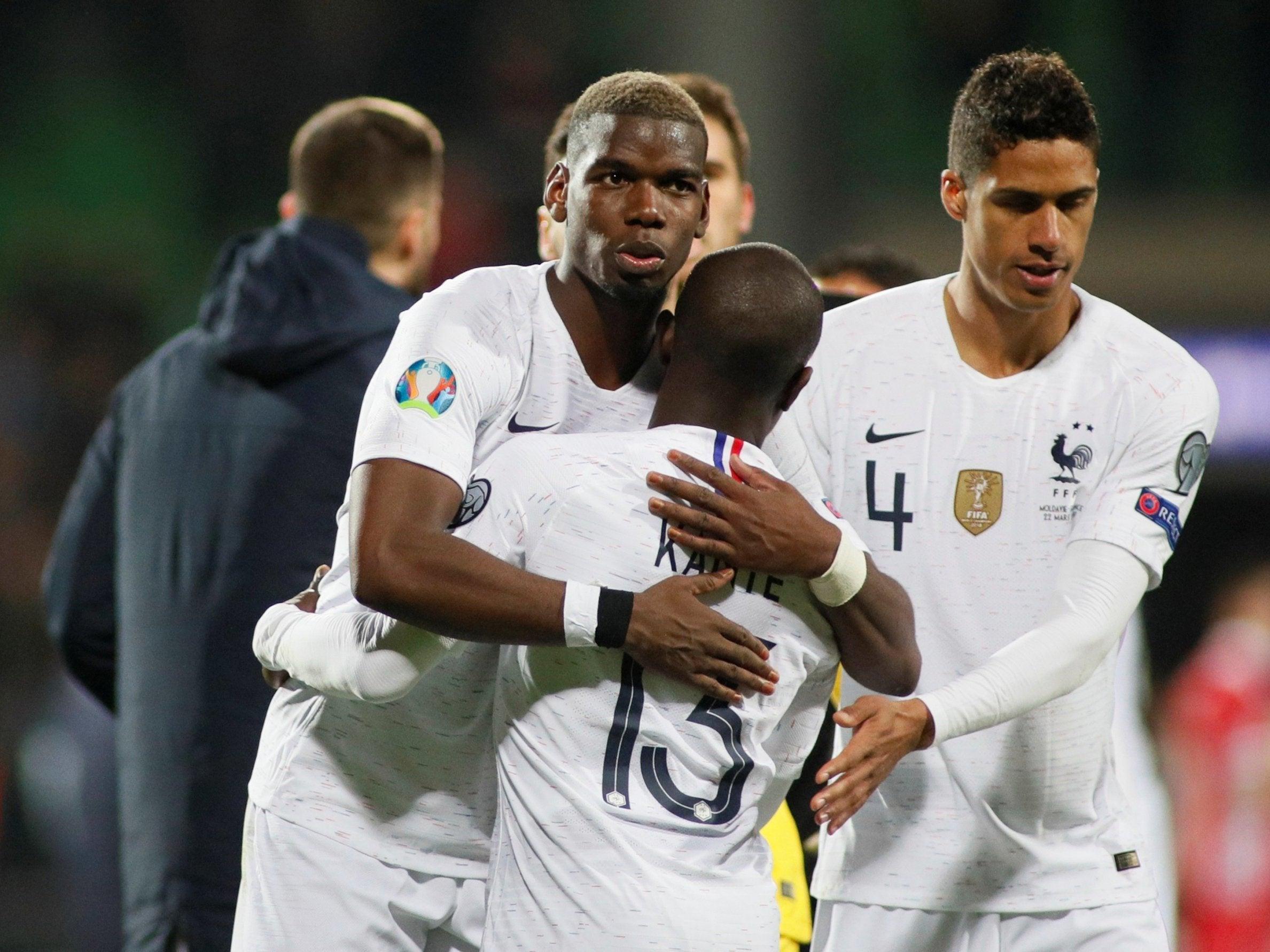 Image result for France beat Moldova 4-1, Portugal, Ukraine play goalless draw