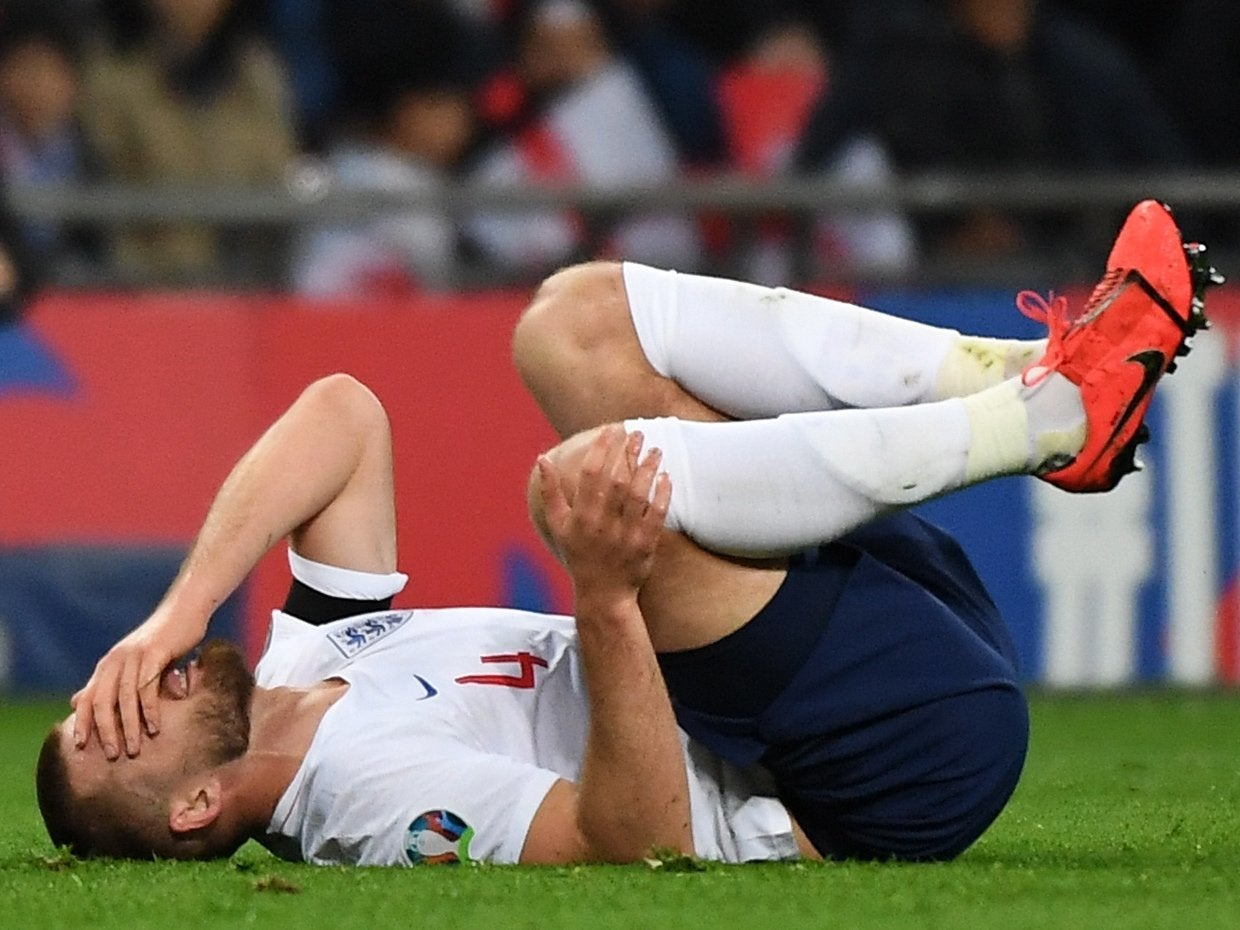 bd018673389 England injury news: Eric Dier ruled out of Montenegro clash in latest blow  to Gareth Southgate's squad | The Independent