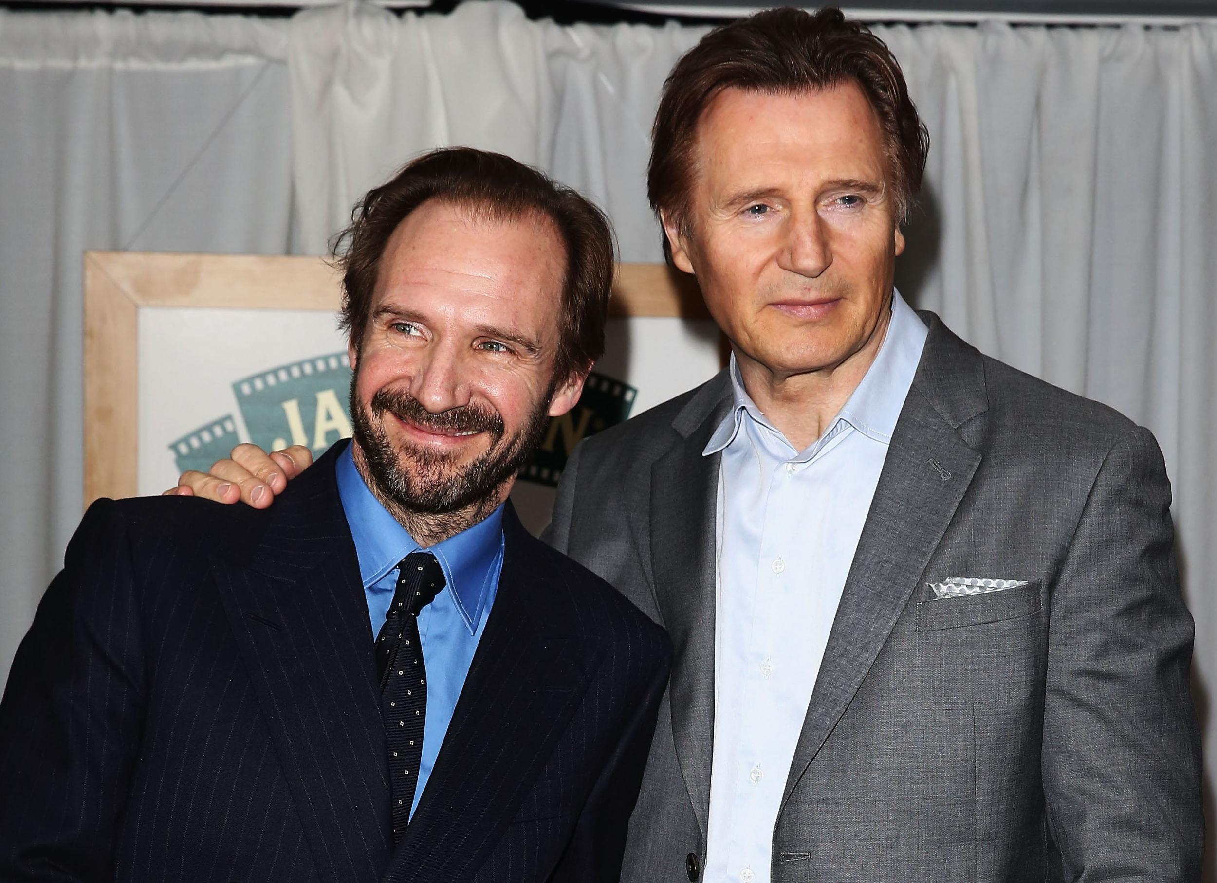 Ralph Fiennes speaks out over Liam Neeson racism controversy