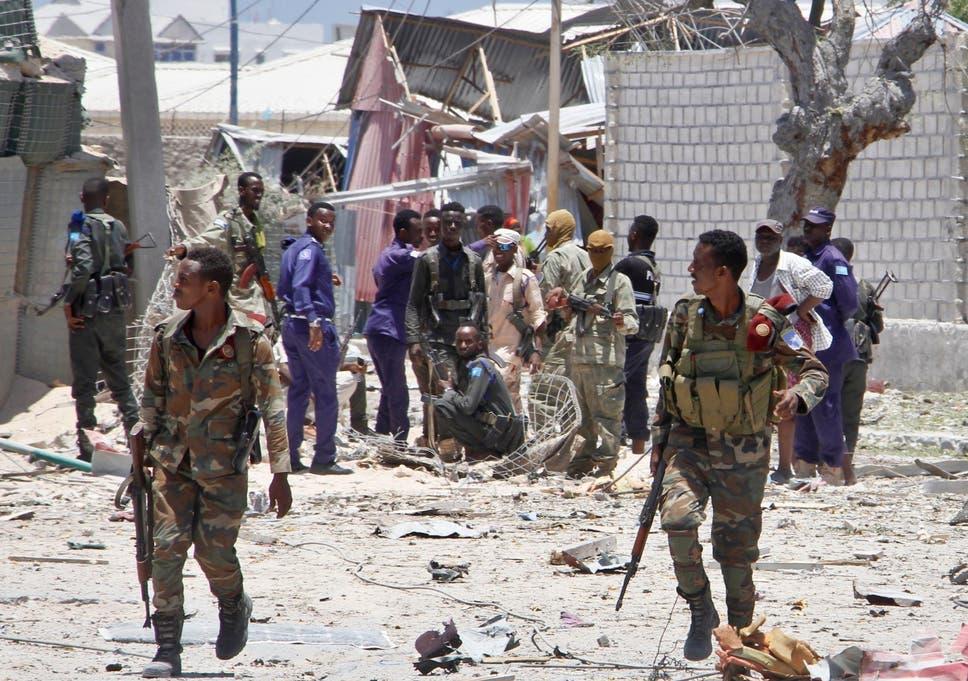 Image result for Al-Shabaab detonates bomb in govt ministry
