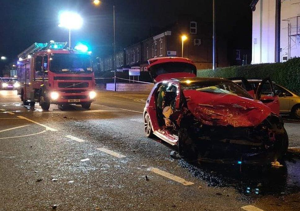 Birmingham Crash Children Aged 3 And 5 Among Those Injured In